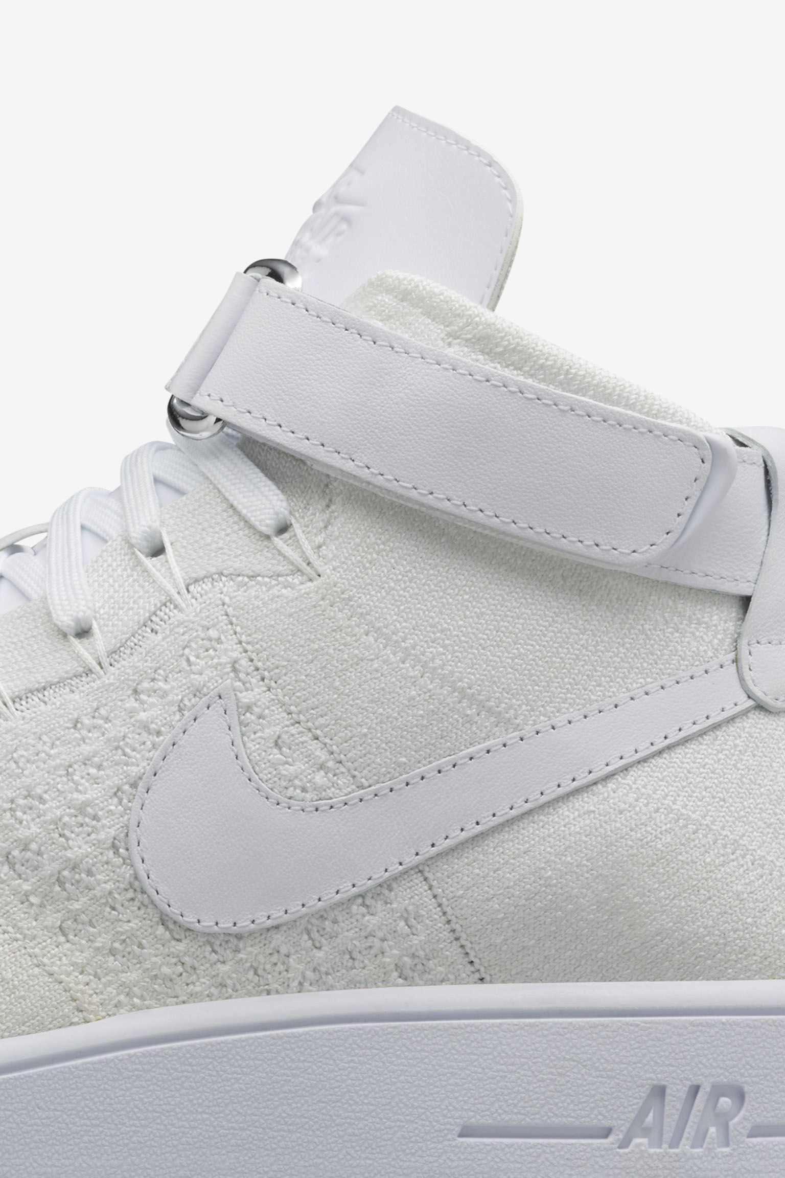 Nike Air Force 1 Ultra Flyknit Mid 'Triple White' Release Date