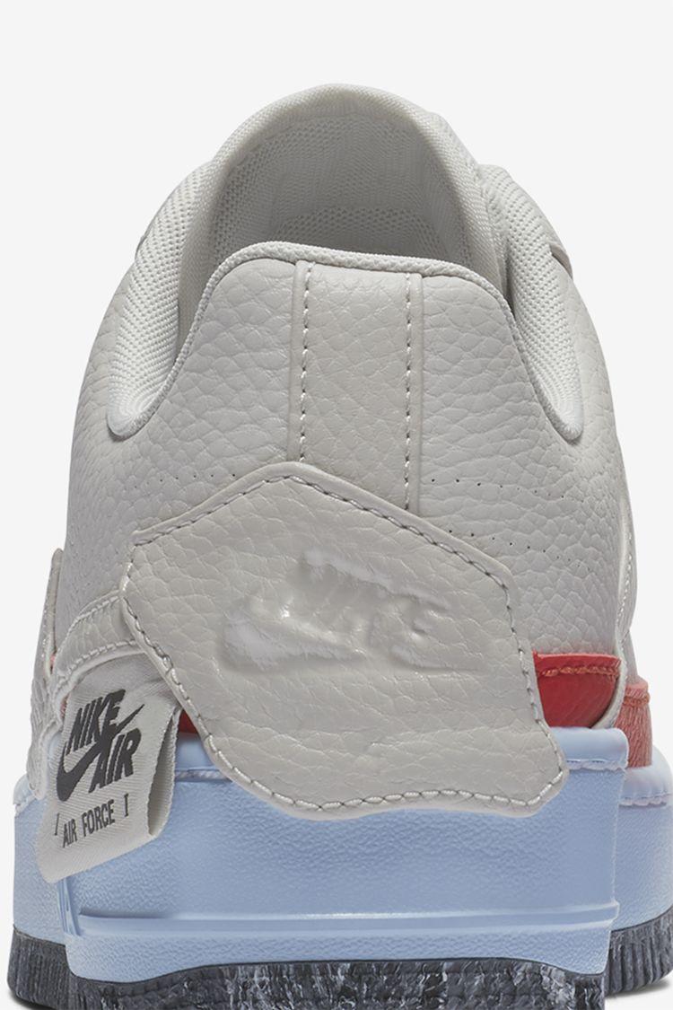 Women s Nike Air Force 1 Jester XX 1 Reimagined  Light Bone  Release ... 8f53b2b4a1