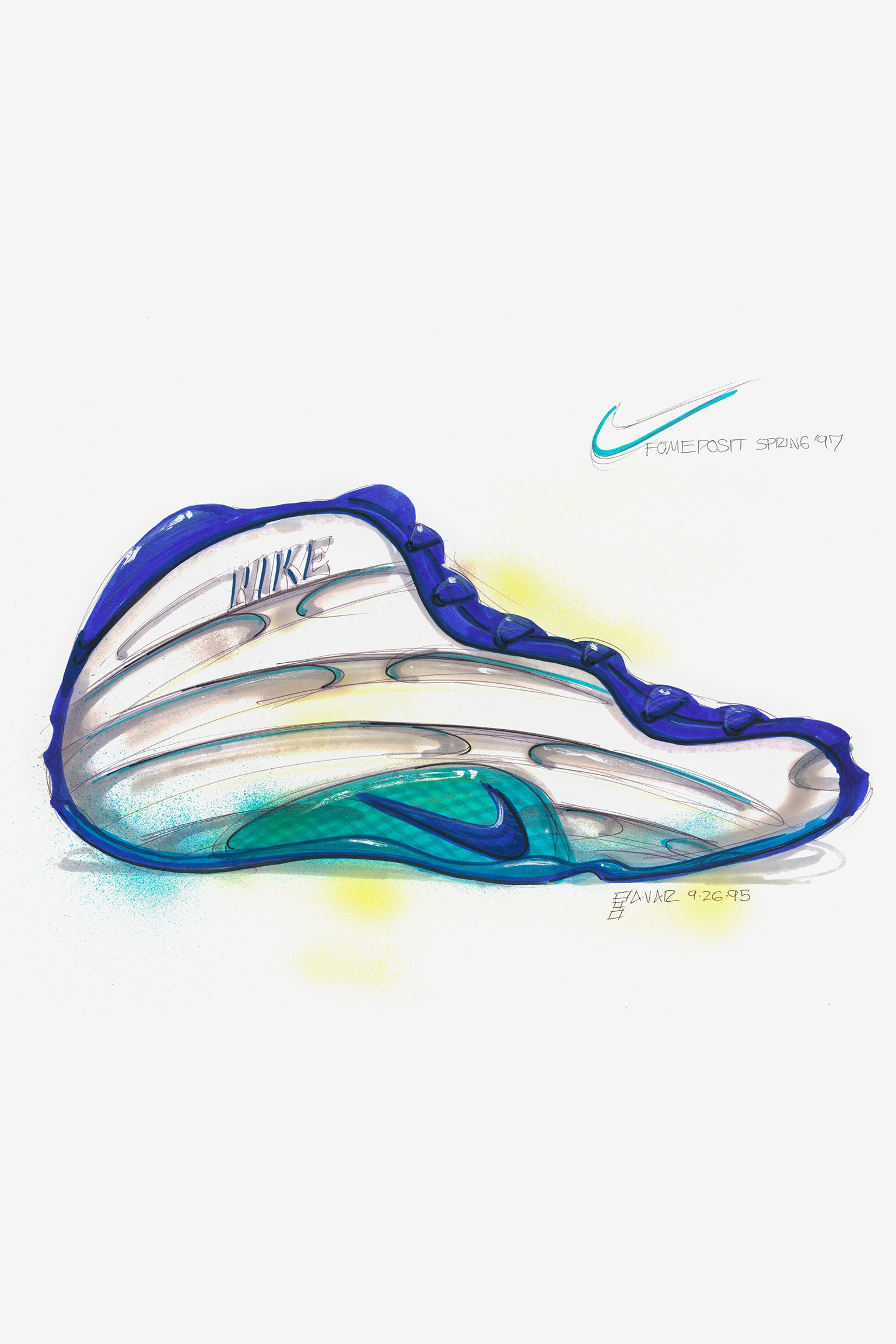 Bag om designet: Nike Air Foamposite One