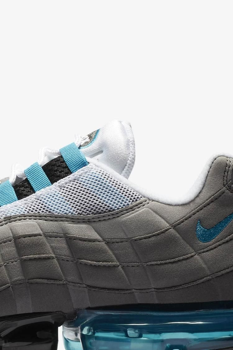 Nike Air Vapormax 95 'Medium Ash & Neo Turquoise' Release Date