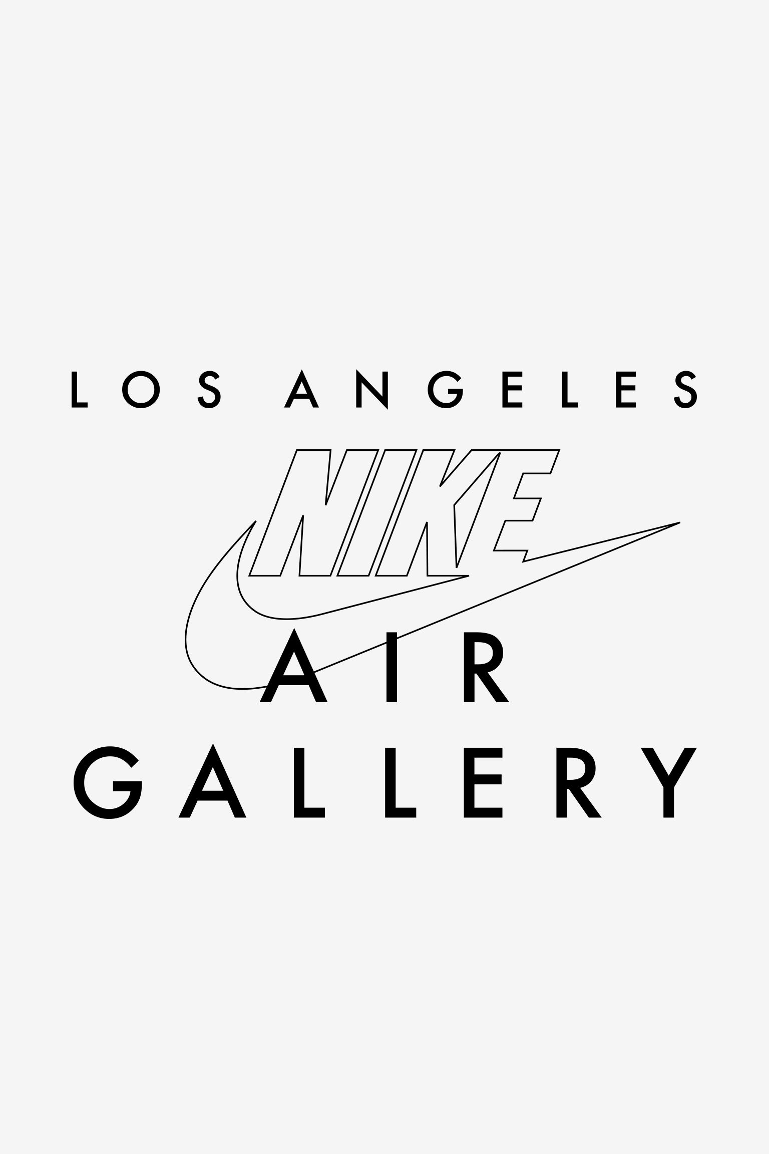 Nike - Air Moves LA: Air Gallery