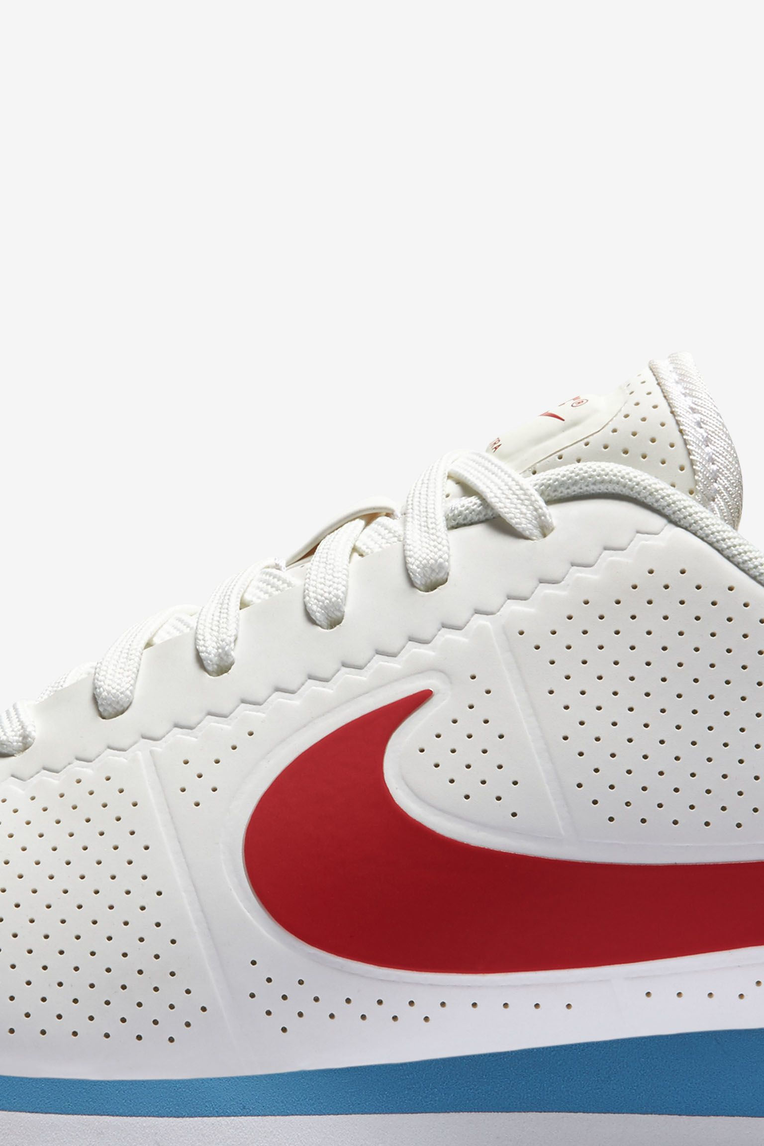 Women's Nike Cortez Ultra Moire 'White, Varsity Red & Blue' Release Date