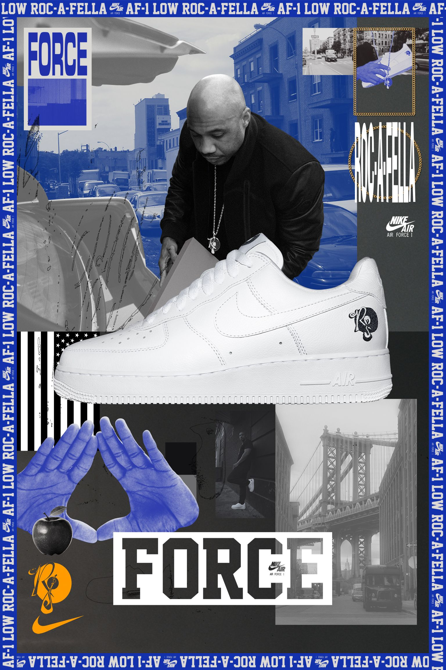 Behind The Design: Air Force 1 Roc-A-Fella
