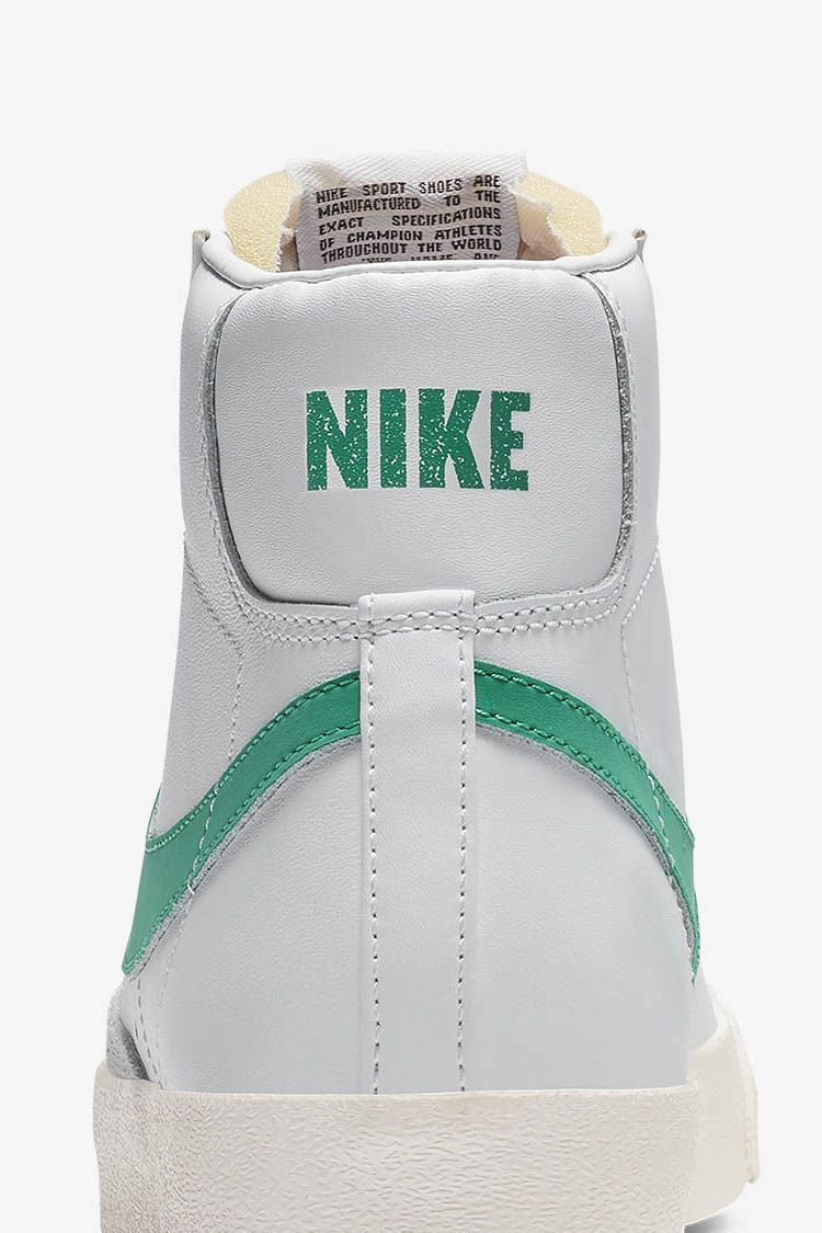 purchase cheap 65a93 9c7f6 ... canada nike blazer mid 77 vintage lucid green white f75f4 b50b1