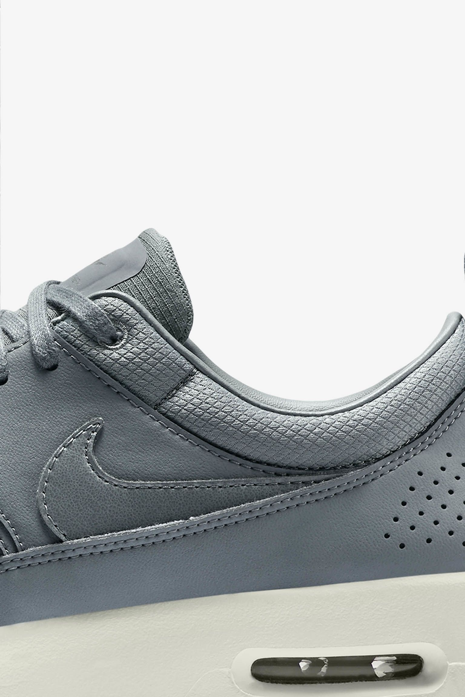 Women's Nike Air Max Thea Premium 'Cool Grey & Metallic Pewter'