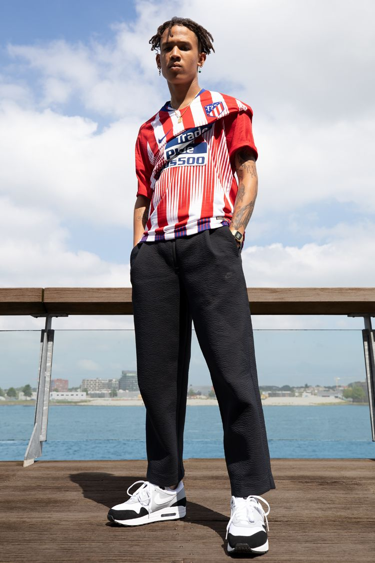 2018/19 Atletico Madrid Stadium Home Kit