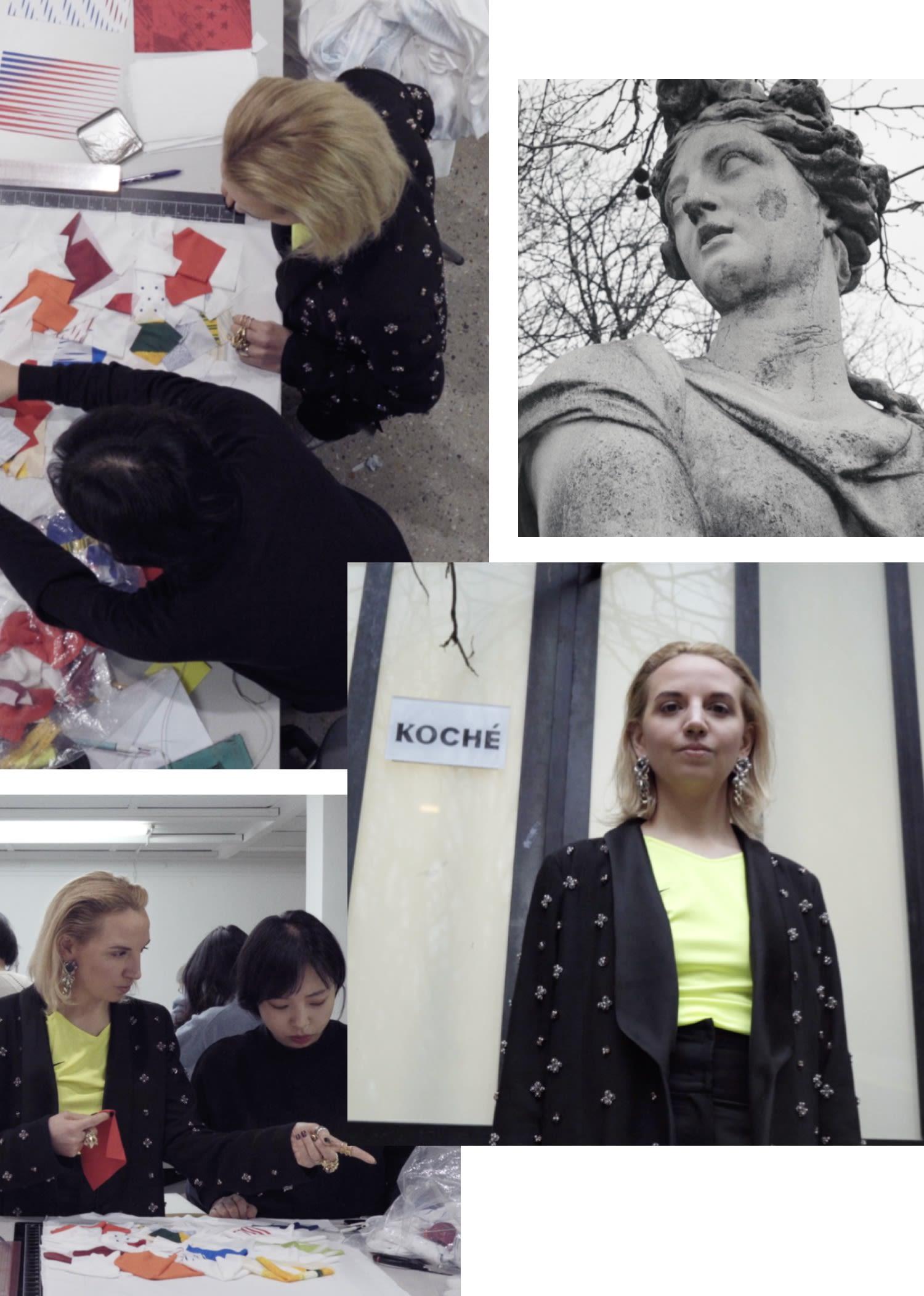 Christelle Kocher Goddess of Victory Dress