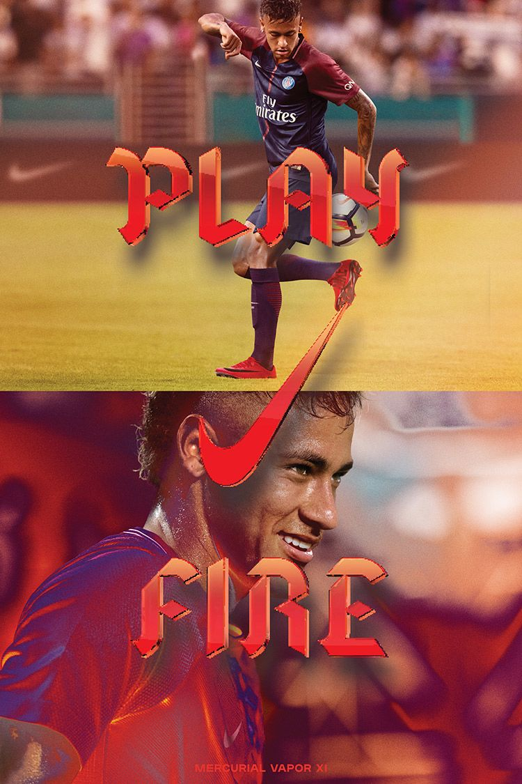 Nike Play Fire Mercurial Vapor XI