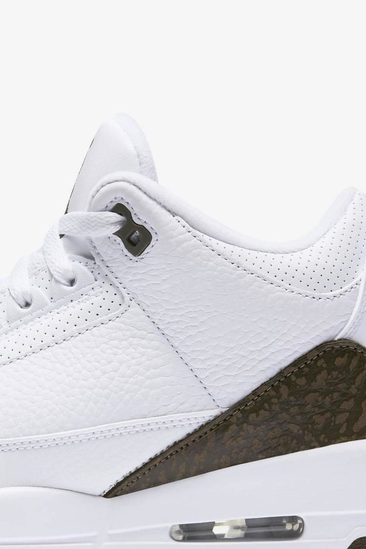 Air Jordan 3 Retro 'White & Chrome & Dark Mocha' Release Date