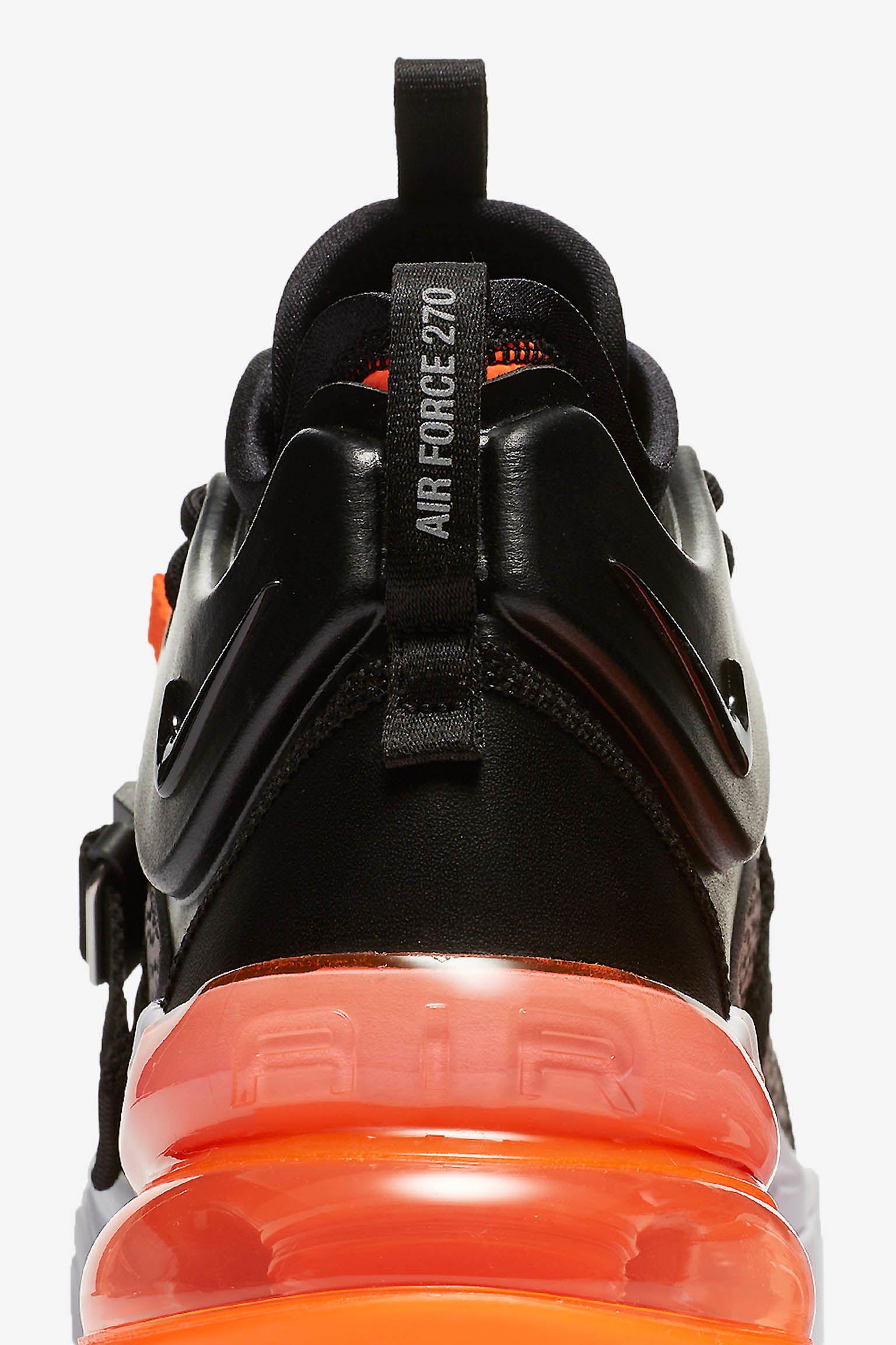 Nike Air Force 270 'Black & Hyper Crimson' Release Date