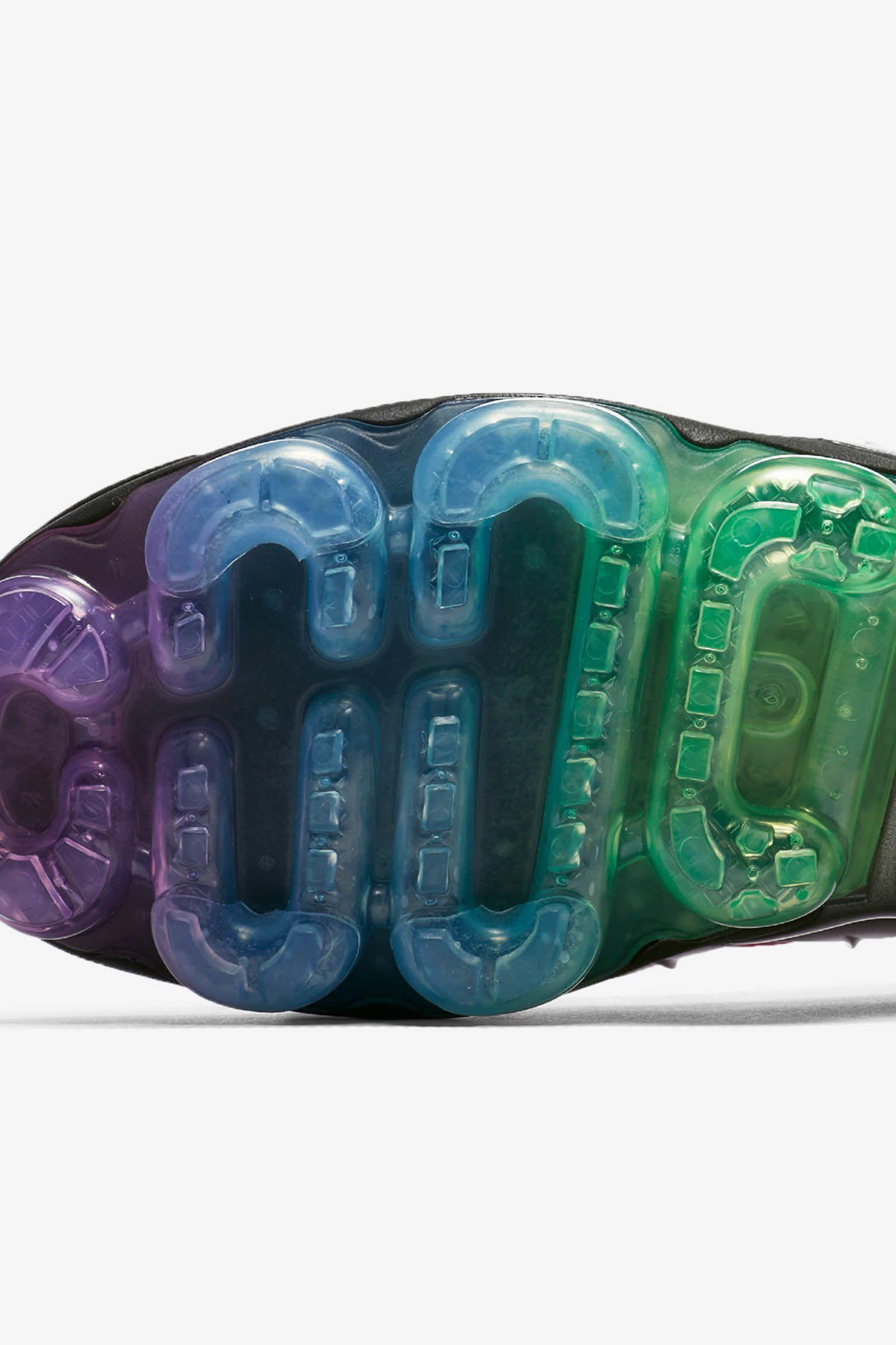 Nike Air Vapormax Plus Betrue 'Black & Multicolor' Release Date