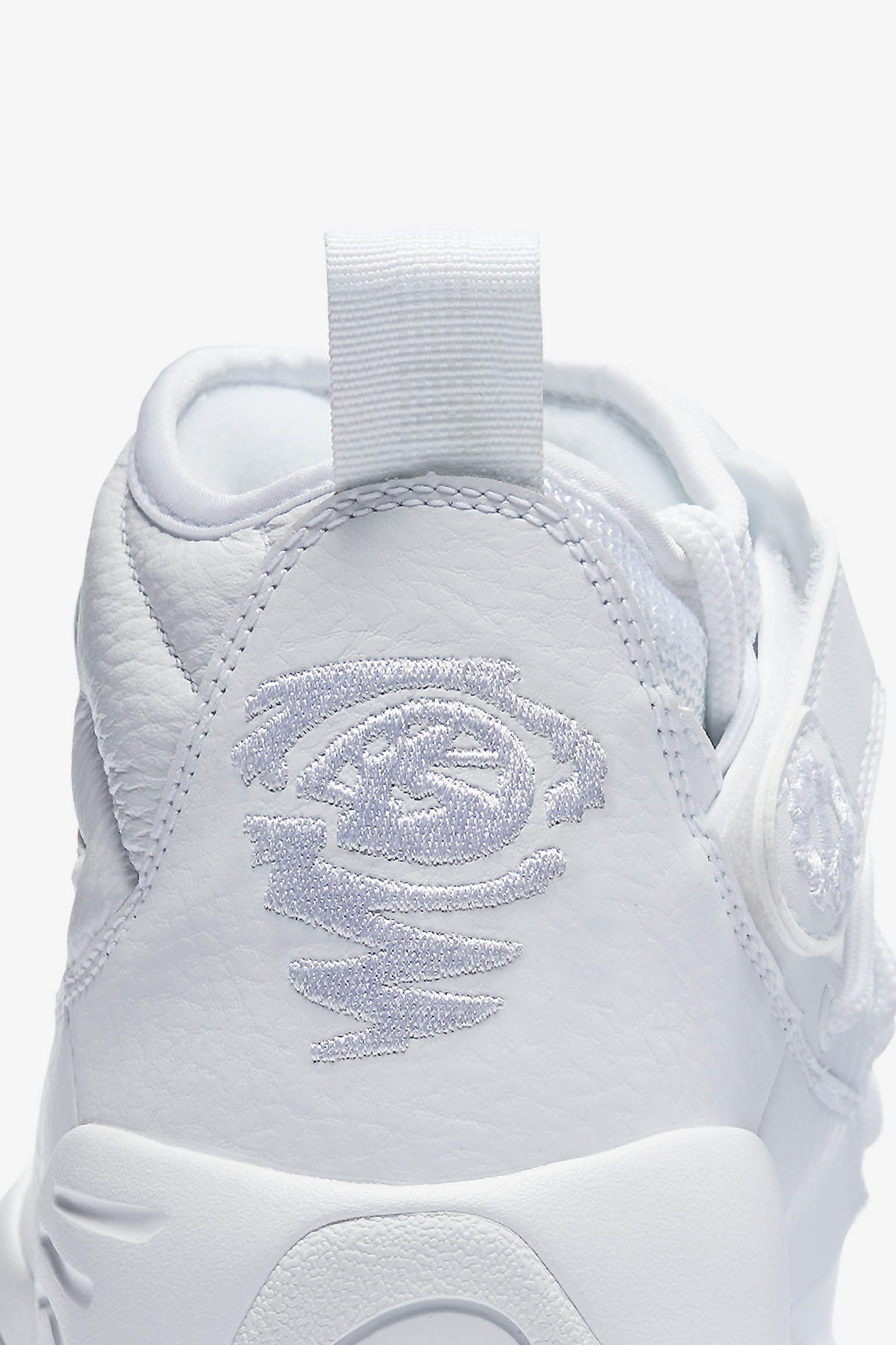 Nike Air Shake Ndestrukt 'Triple White'