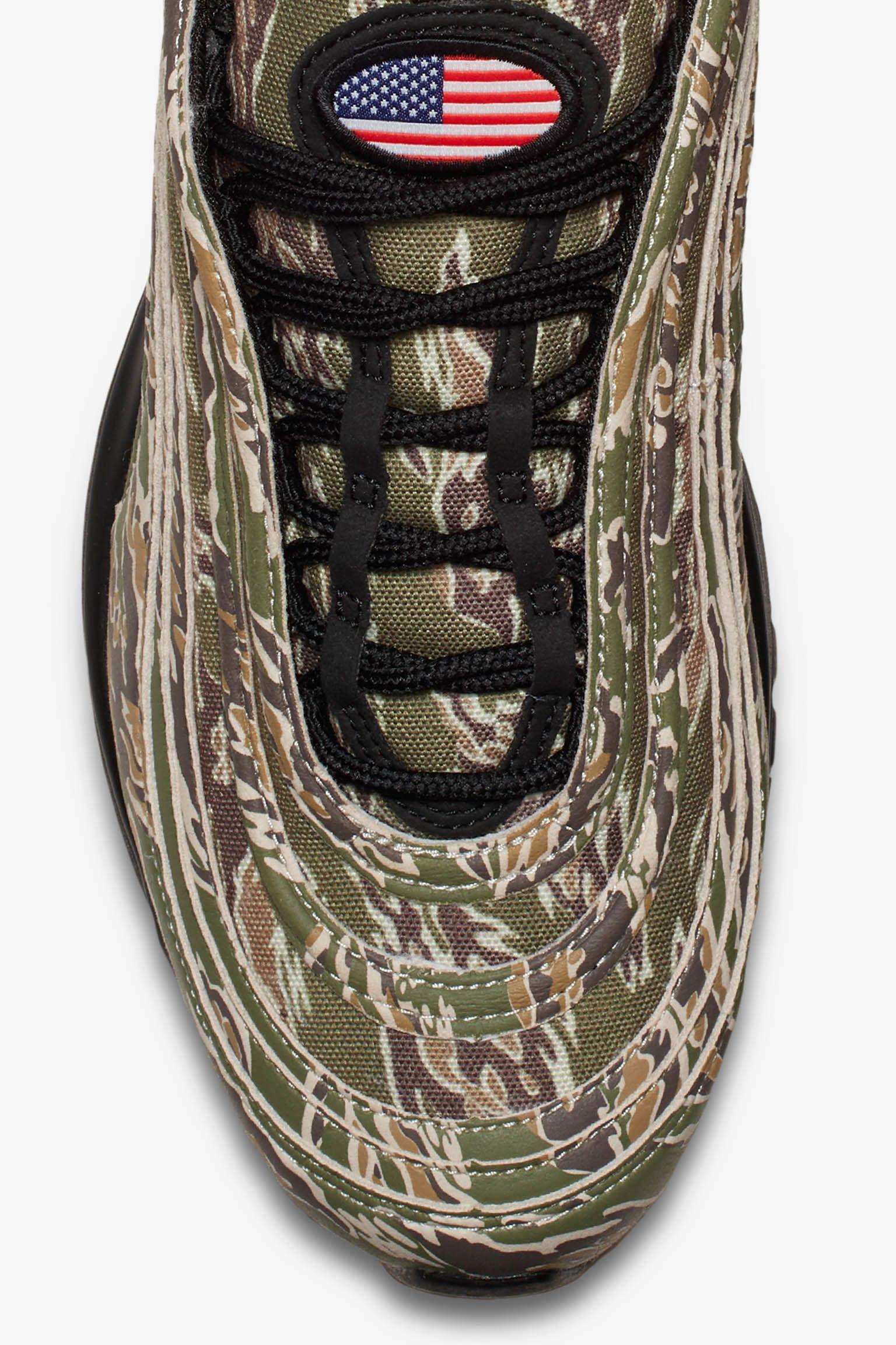 Nike Air Max 97 Premium Camo 'USA' Release Date