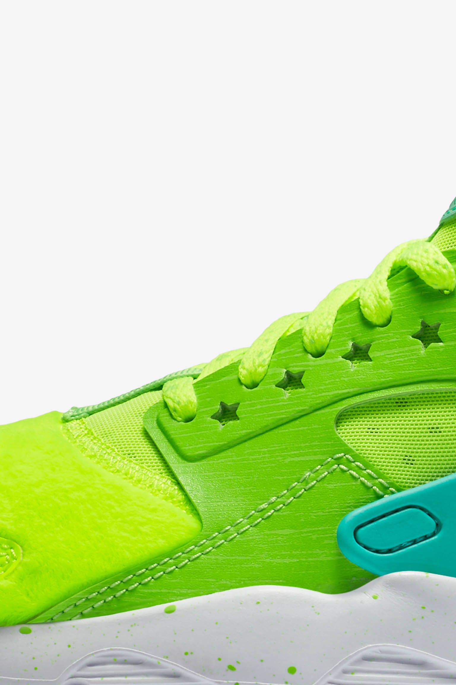 Women's Nike Air Huarache Ultra Doernbecher 'Volt & Electric Green' Release Date