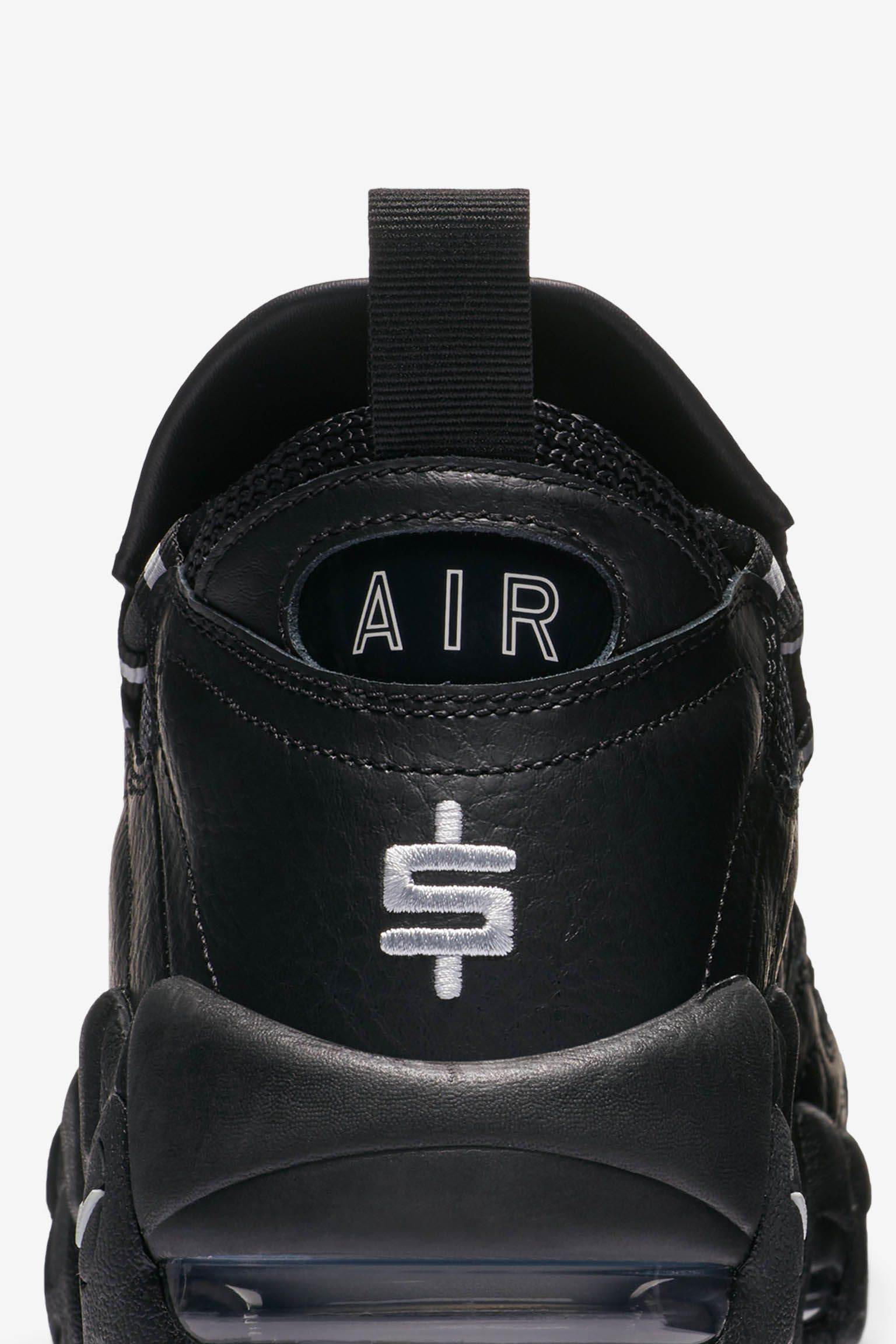 Nike Air More Money 'Black & Pure Platinum' Release Date