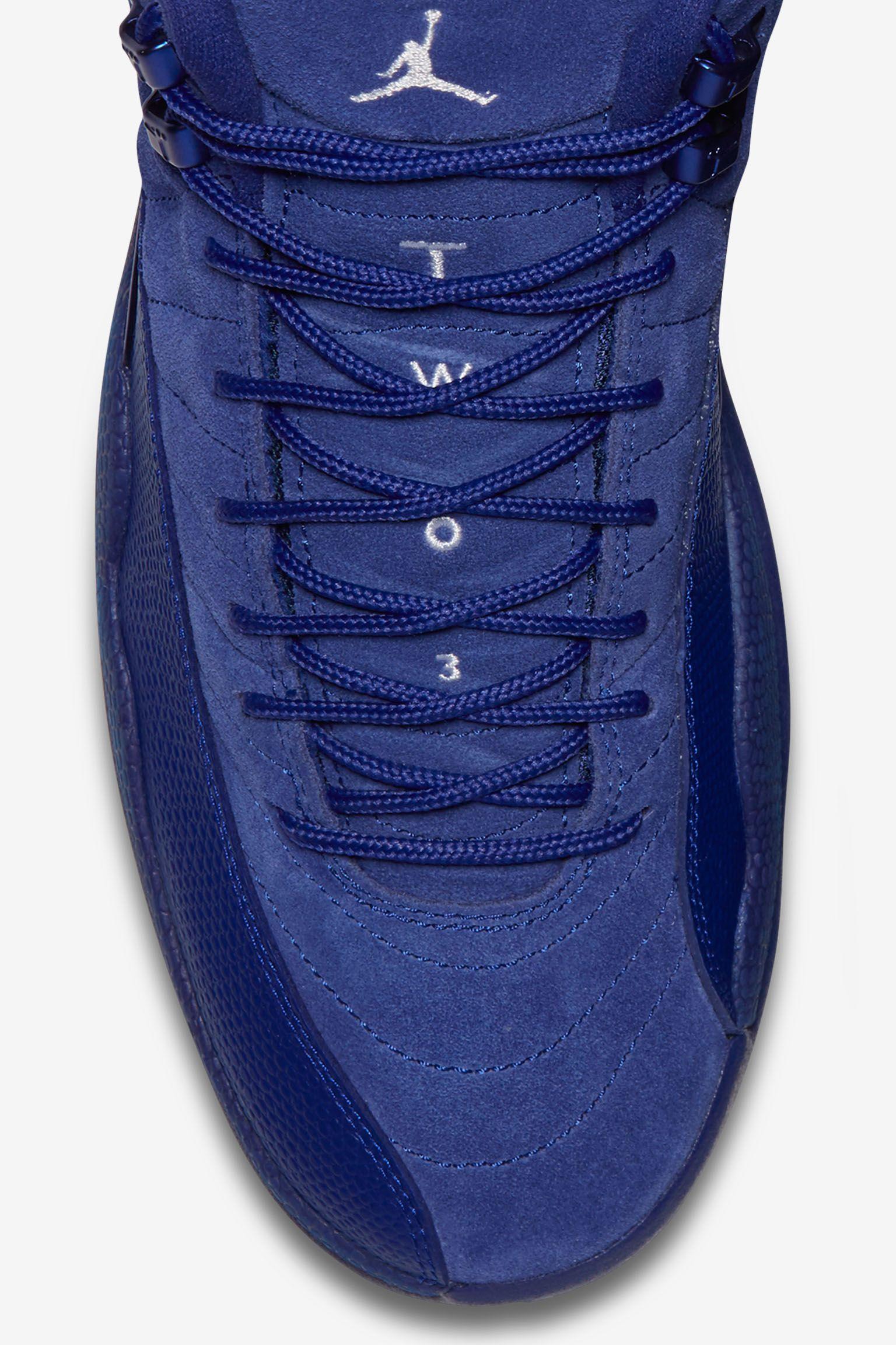 Air Jordan 12 Retro 'Deep Royal Blue'. Release Date