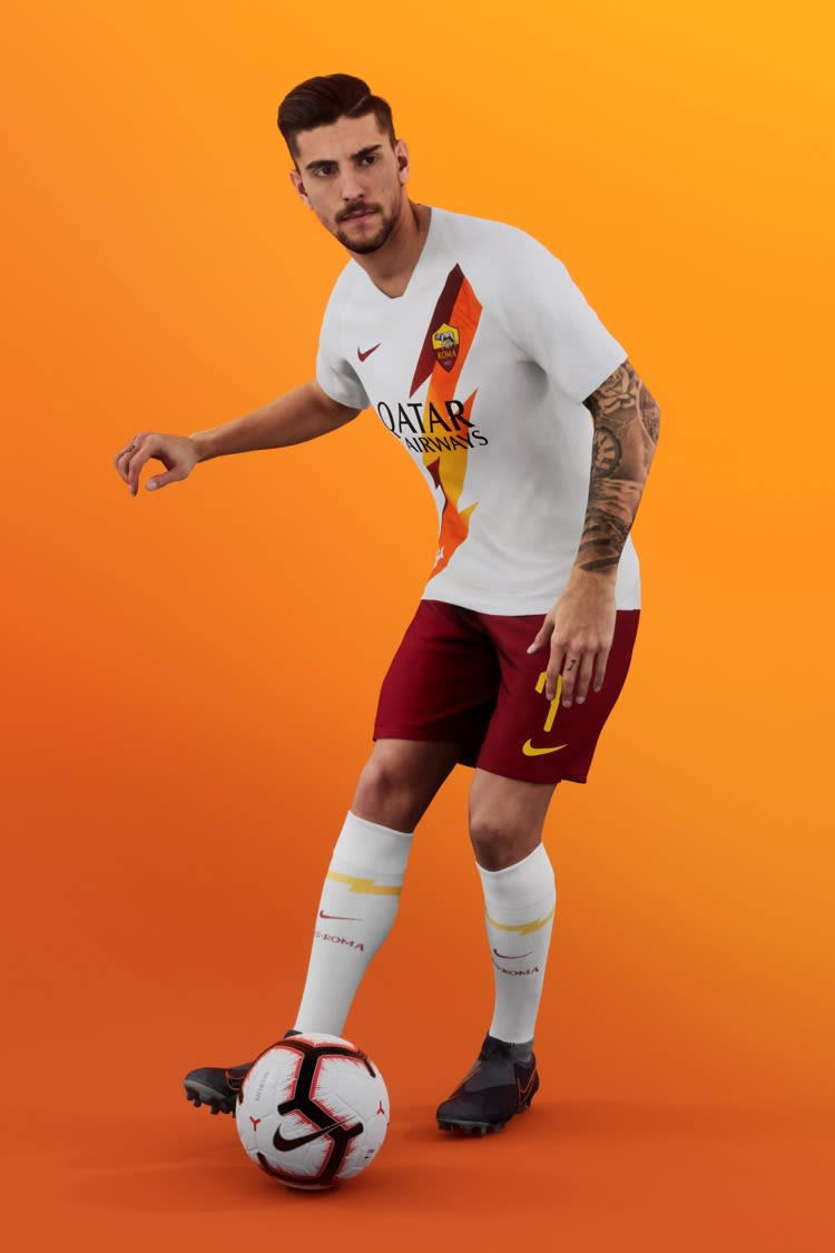 2019/20 AS ROMA STADIUM AWAY JERSEY