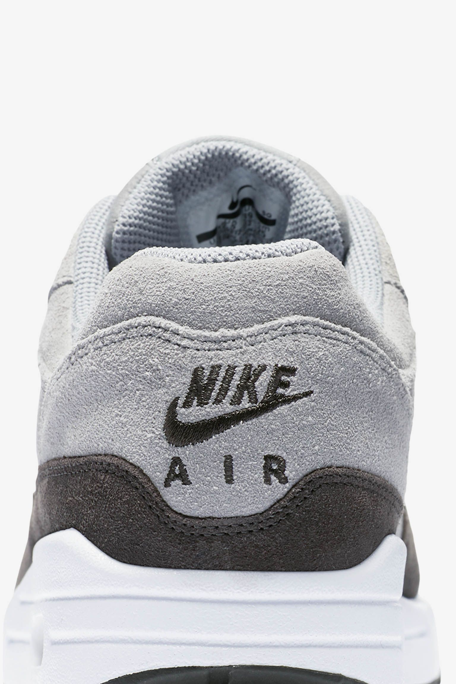 competitive price 592ea 6cbd9 ... buy nike womens air max 1 premium wolf grey metallic pewter white 7d7c7  37a47