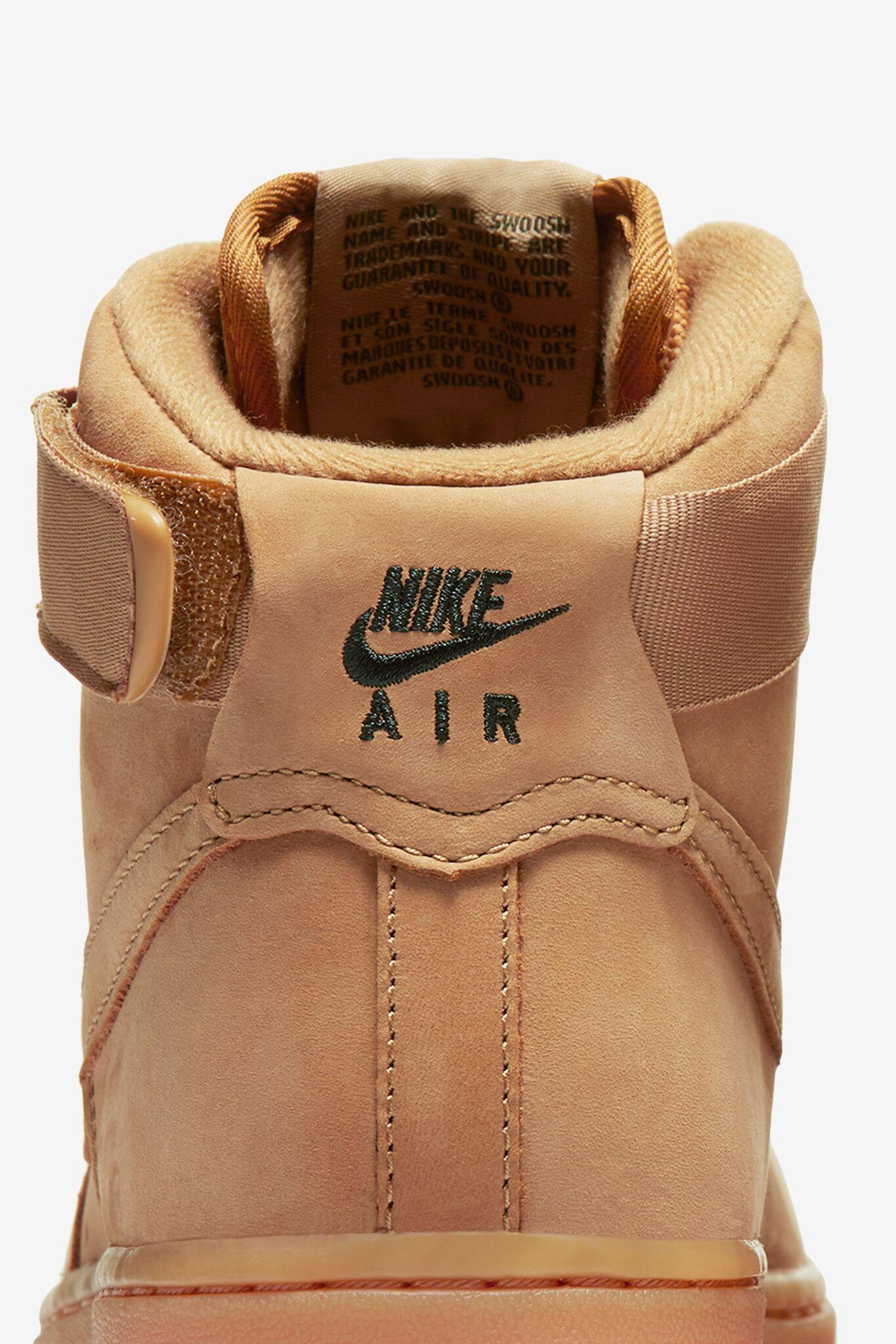 "Nike Air Force 1 High ""Flax"" női cipő"