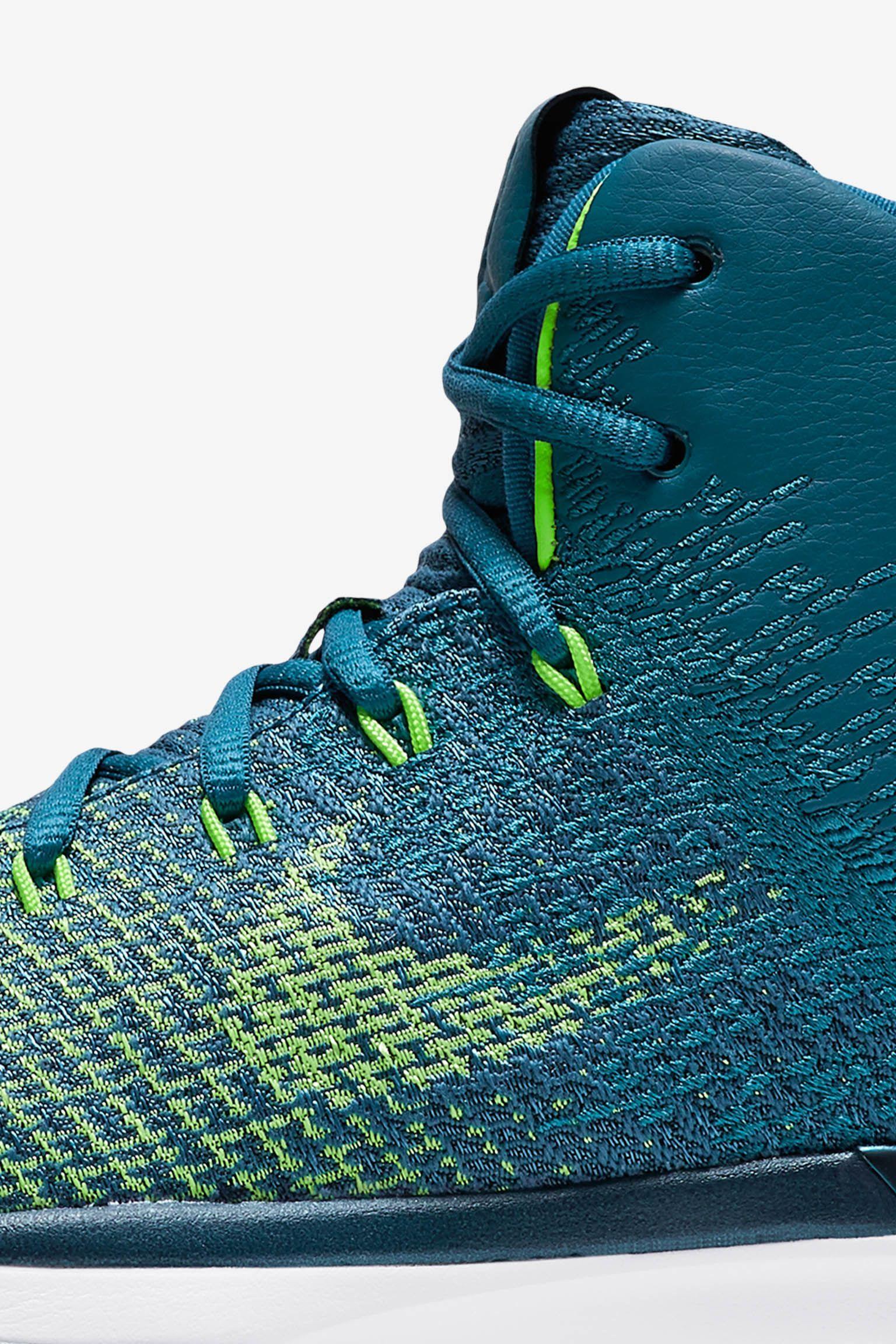 Air Jordan 31 'Green Abyss' Release Date