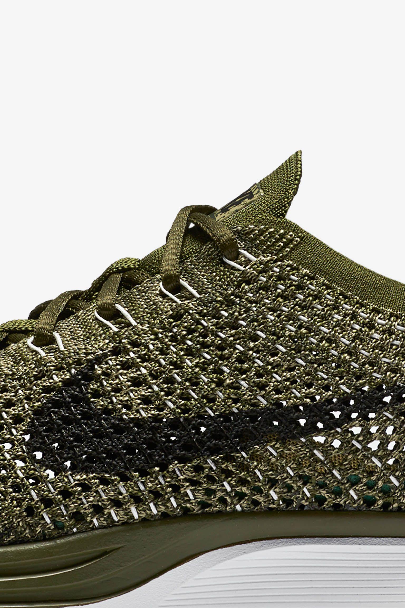 Nike Flyknit Racer 'Rough Green'