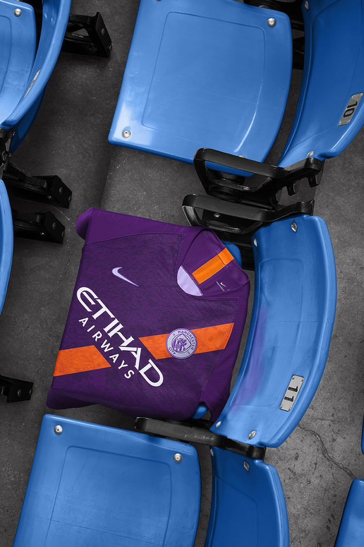 2018/2019 Manchester City Third Kit