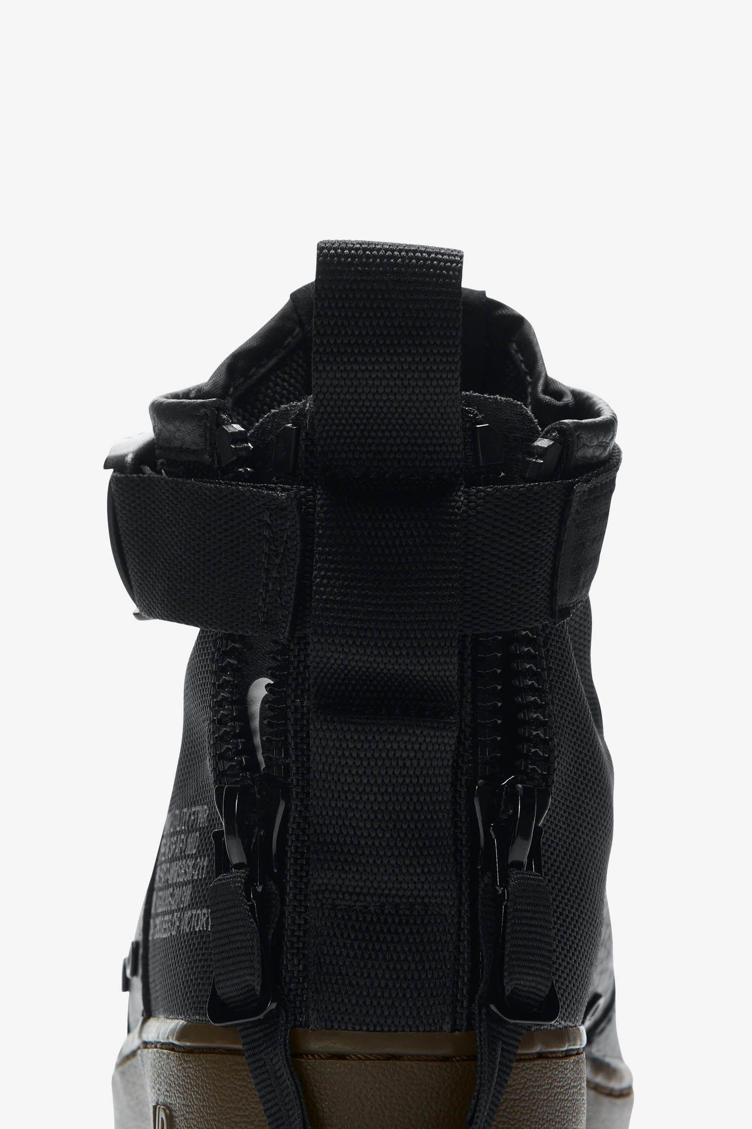 Women's Nike SF AF-1 Mid 'Black & Dark Hazel'