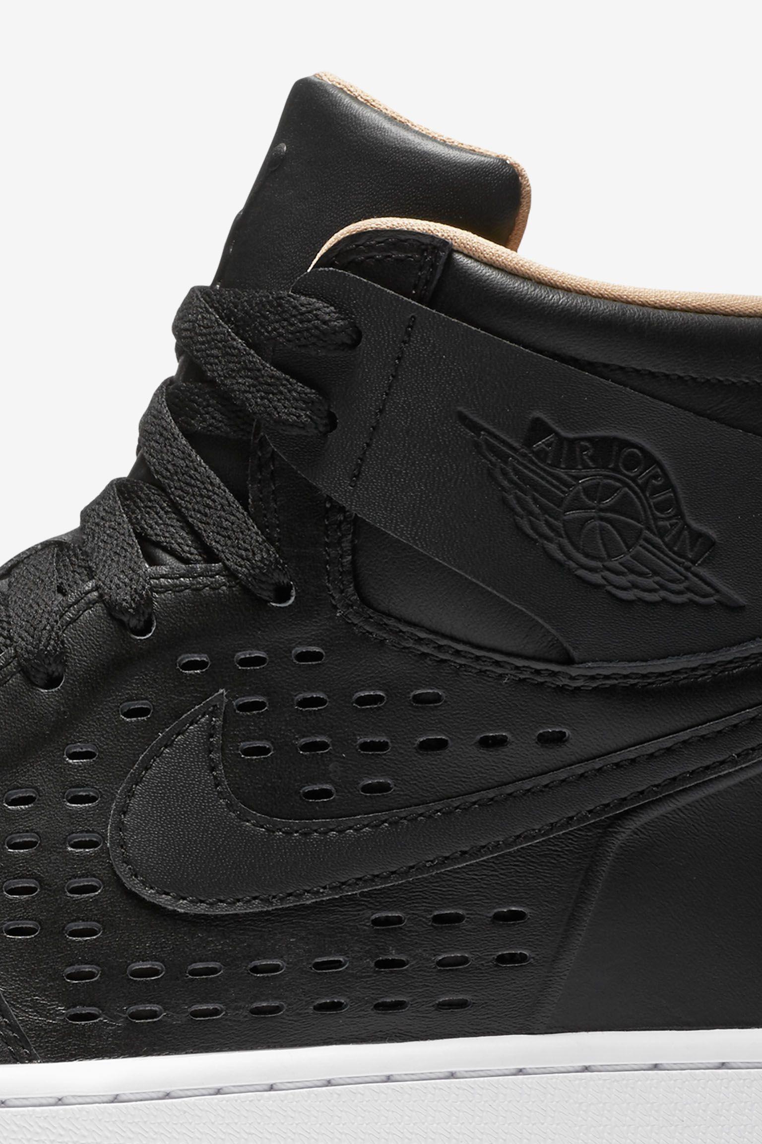 Air Jordan 1 Retro 'Engineered Perf' Black Release Date
