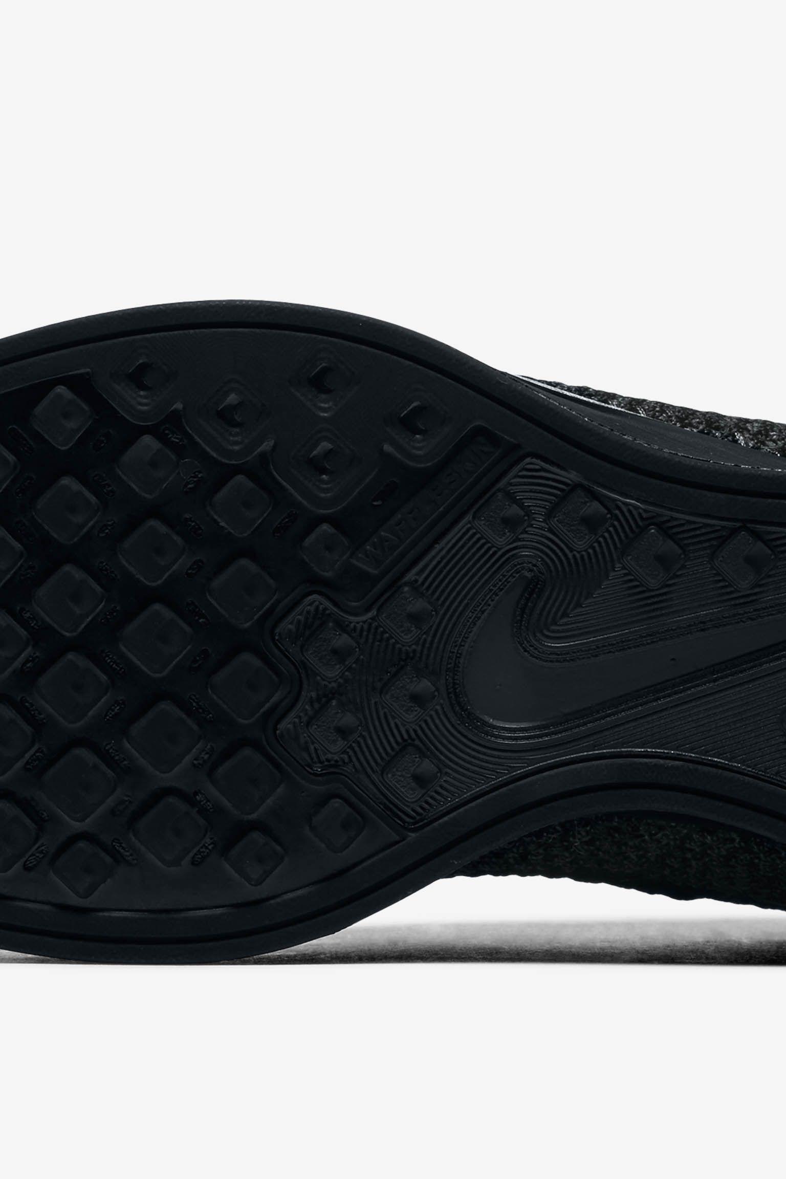 Nike Flyknit Racer 'Triple Black Midnight' Release Date.
