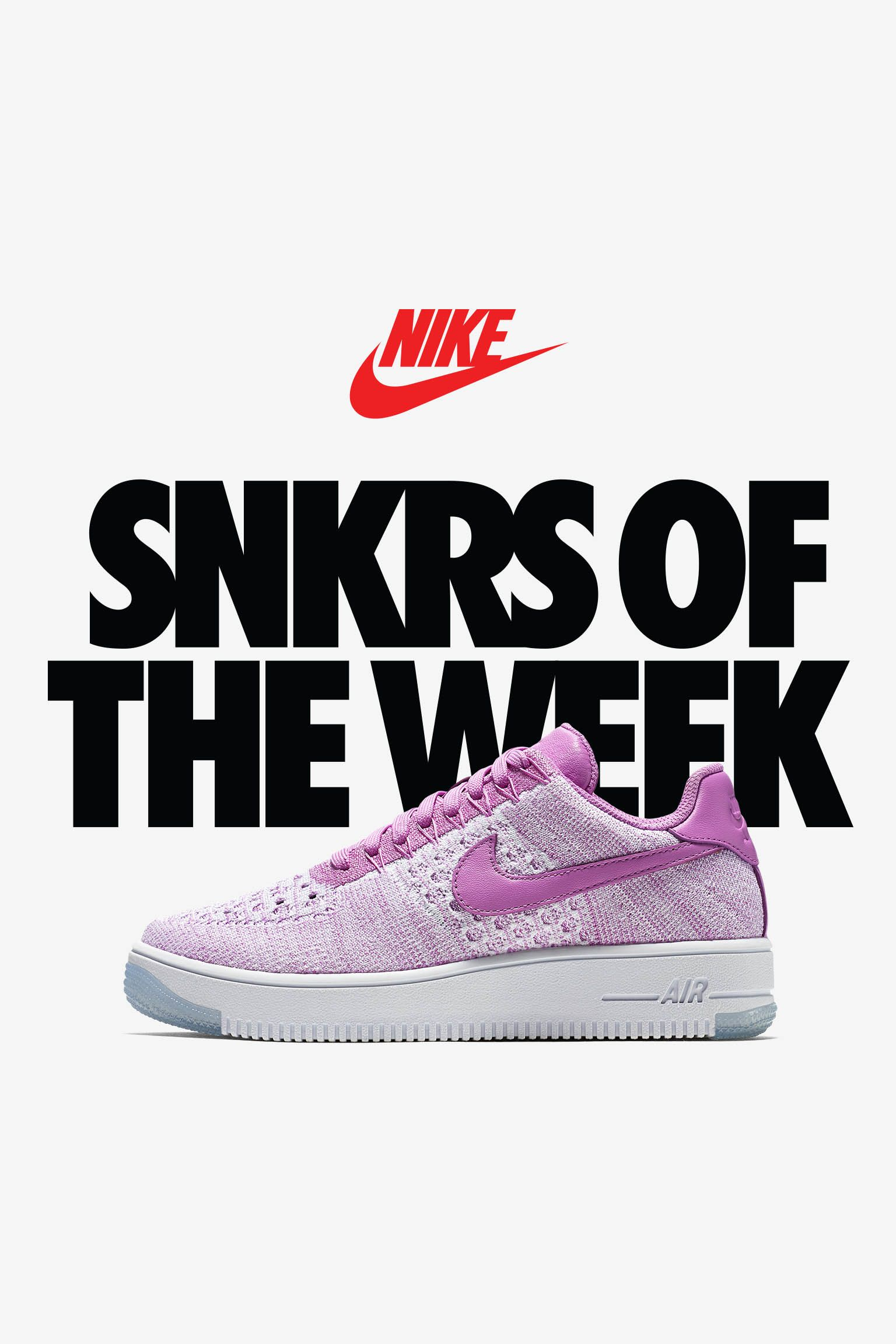 Women's Nike Air Force 1 Ultra Flyknit 'Fuscia Glow' Release Date