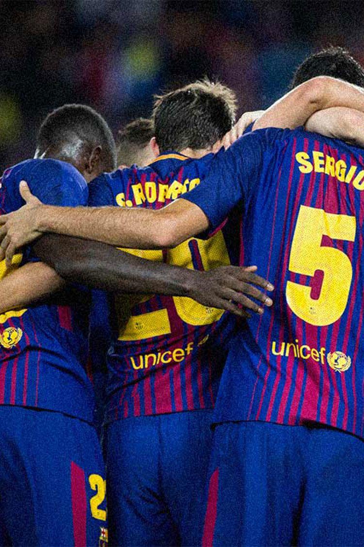 FCバルセロナ ボールが僕らを駆り立てる