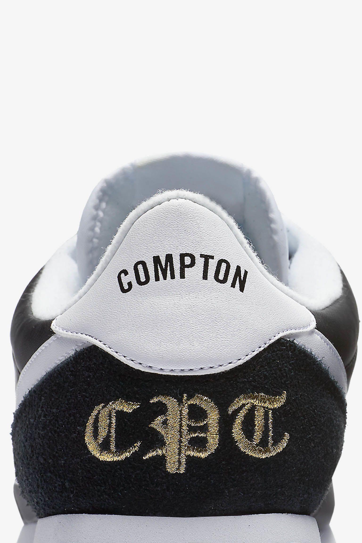 Nike Cortez Basic Nylon 'Compton' Release Date