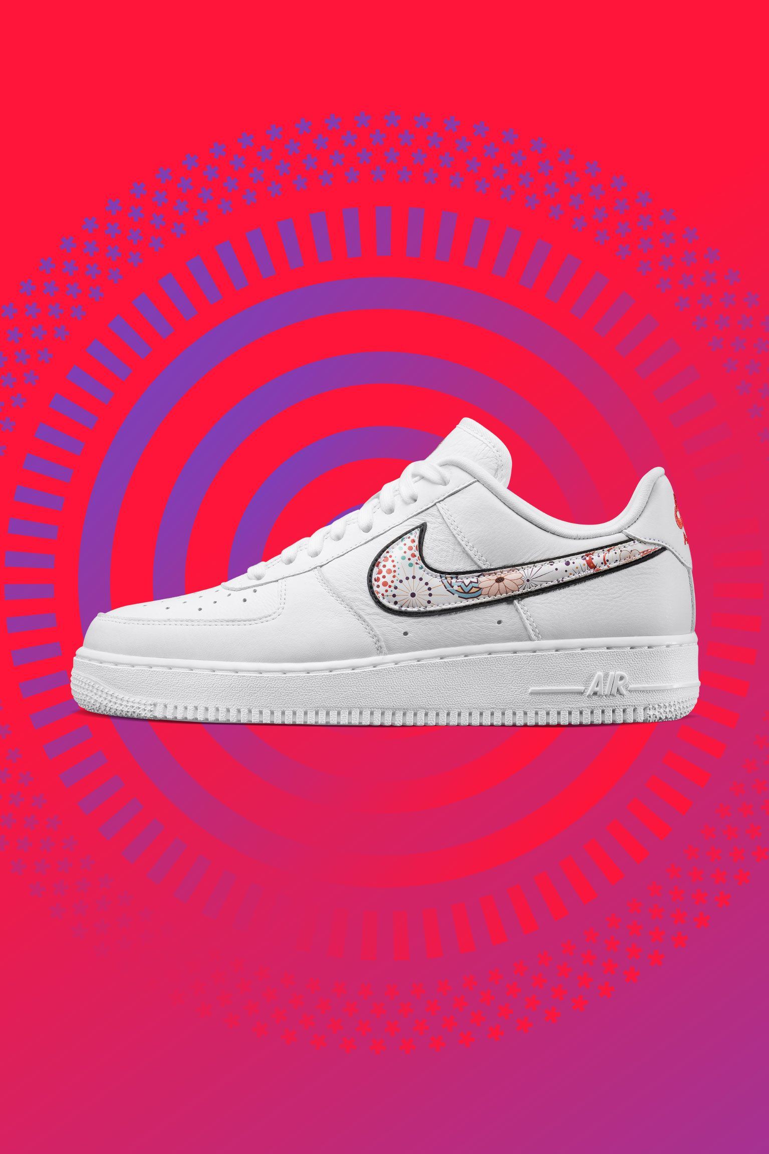 Nike Air Force 1 LNY 'White & Habanero Red' Release Date