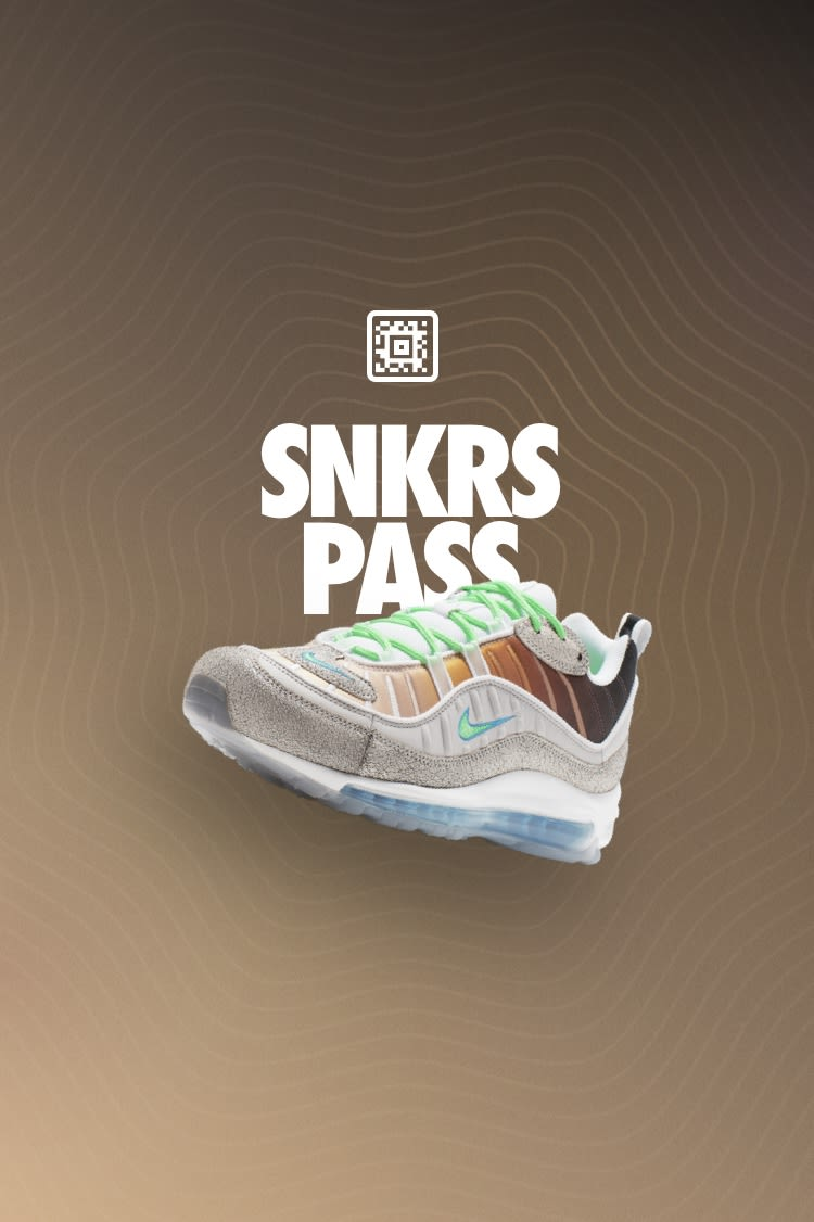 SNKRS Pass: Air Max 98 'On-Air: NYC' Select Cities