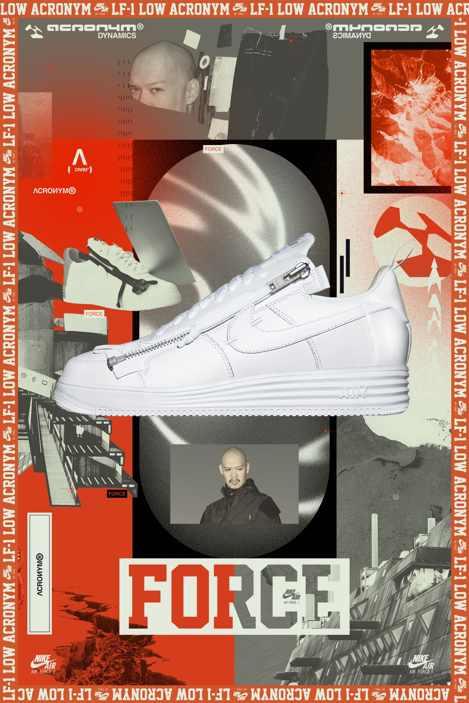 Nike Air Force 1 'Acronym' Release Date