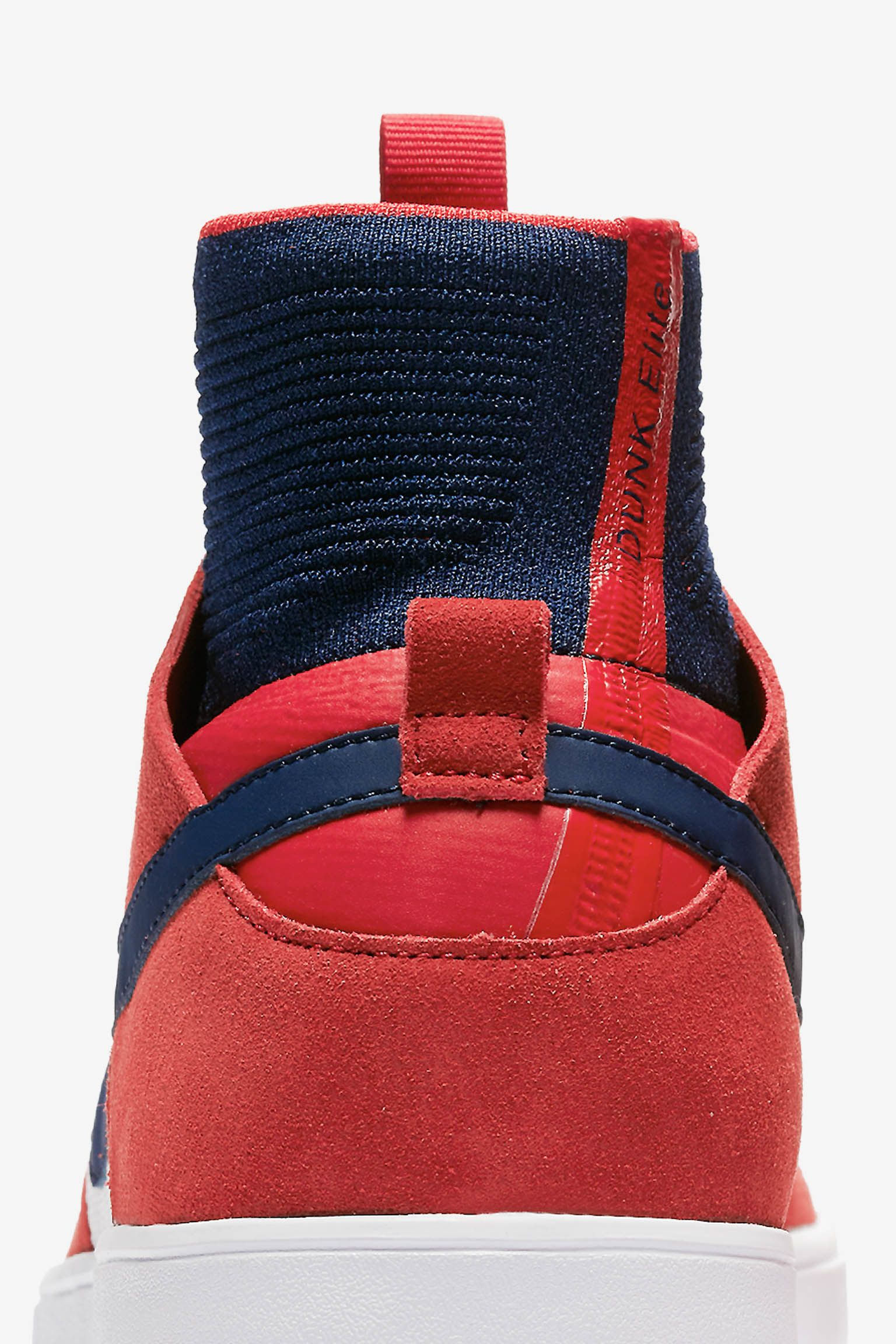 Nike SB Dunk High Elite QS 'University Red & College Navy' Release Date.