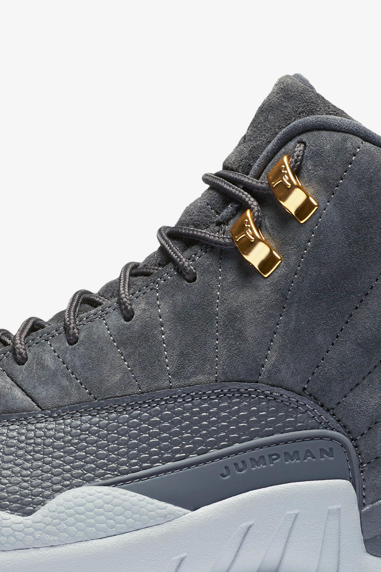Air Jordan 12 Retro 'Dark Grey' Release Date