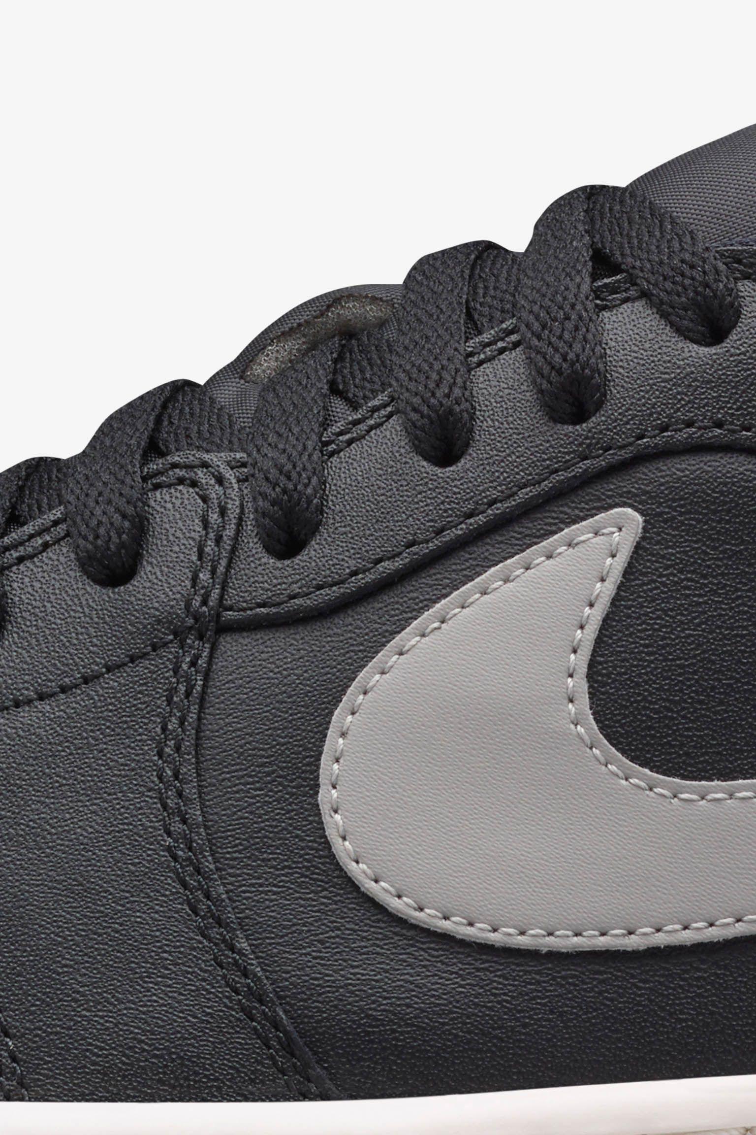 Air Jordan 1 Retro Low 'Medium Grey' Release Date
