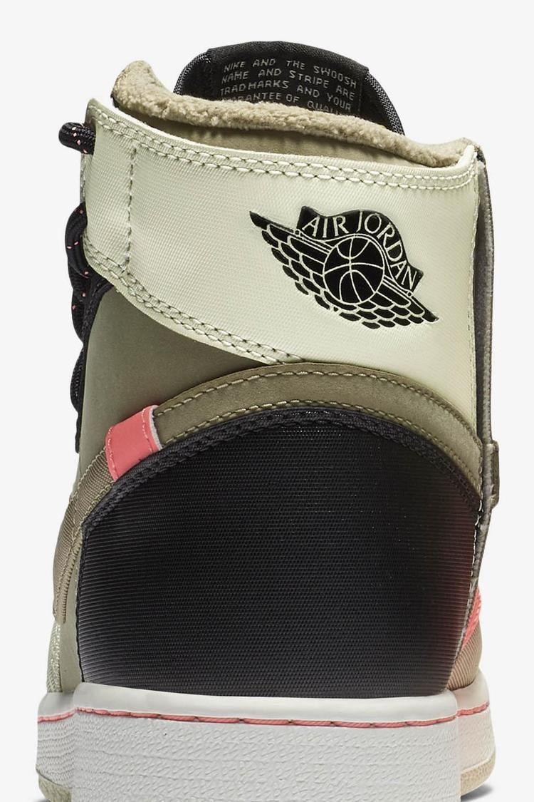Women's Air Jordan 1 Rebel XX 'Parachute Beige & Black & Beach' Release Date