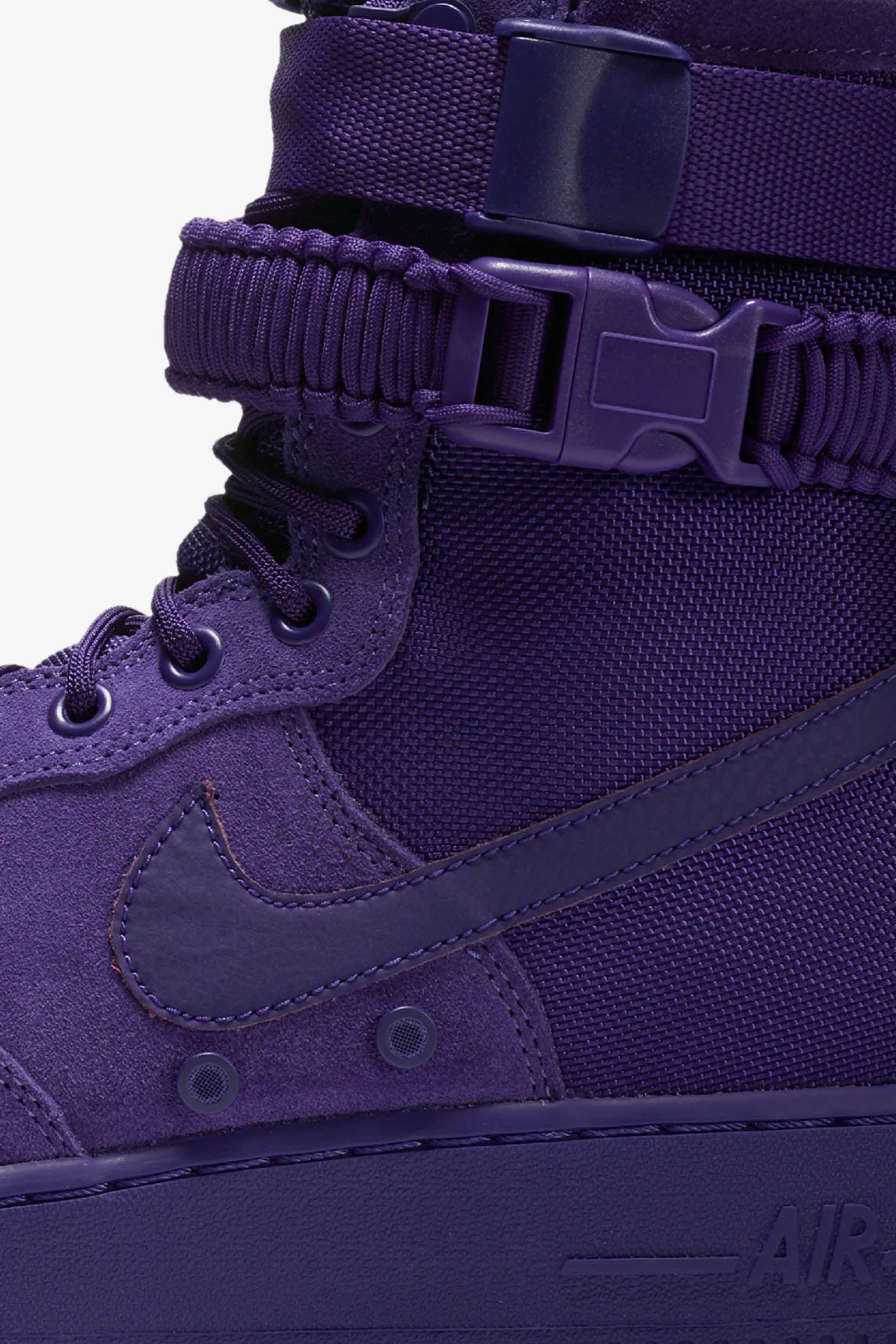Nike SF AF-1 'Court Purple' Release Date