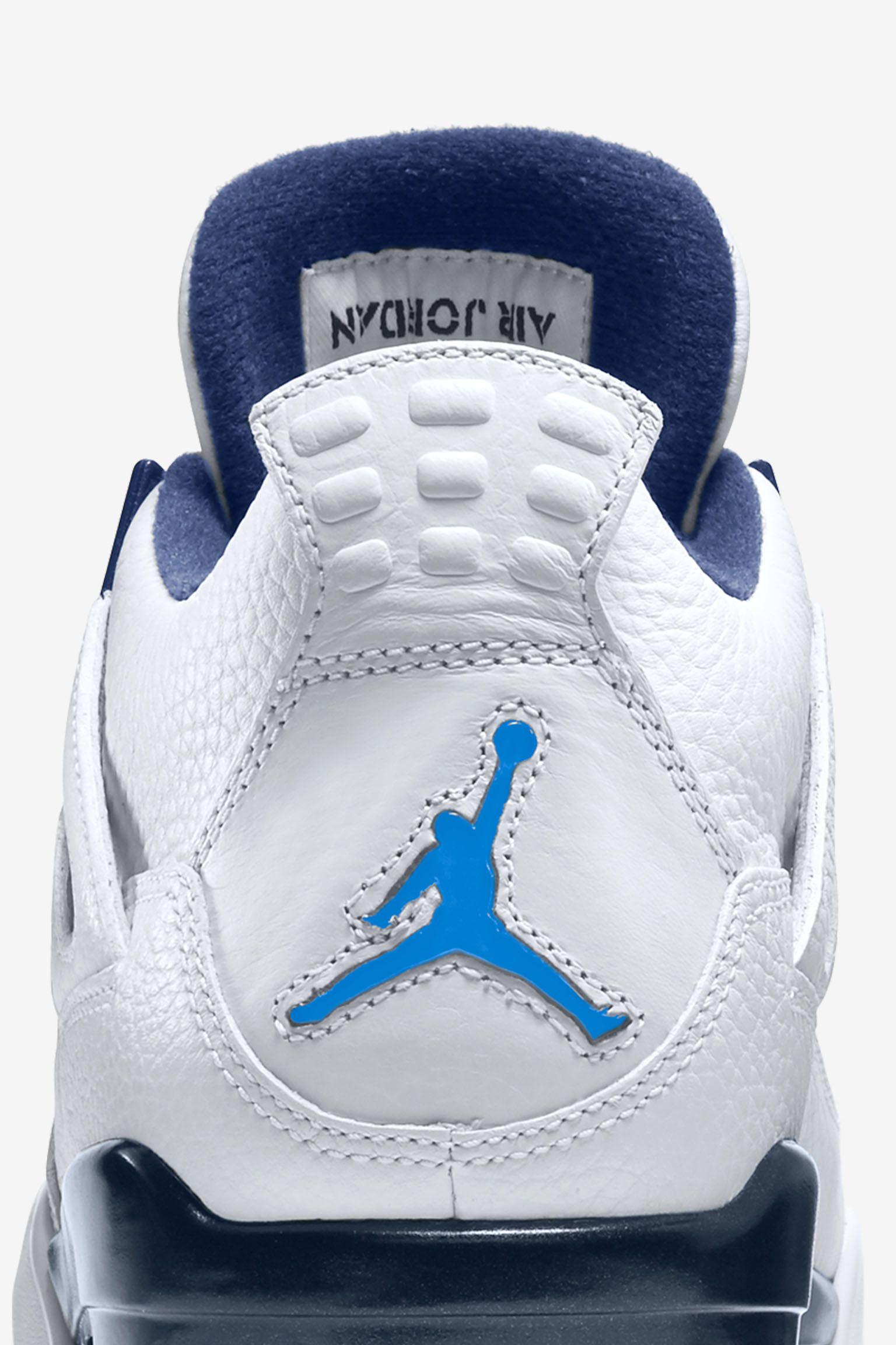 Air Jordan 4 Retro 'Legend Blue' Release Date
