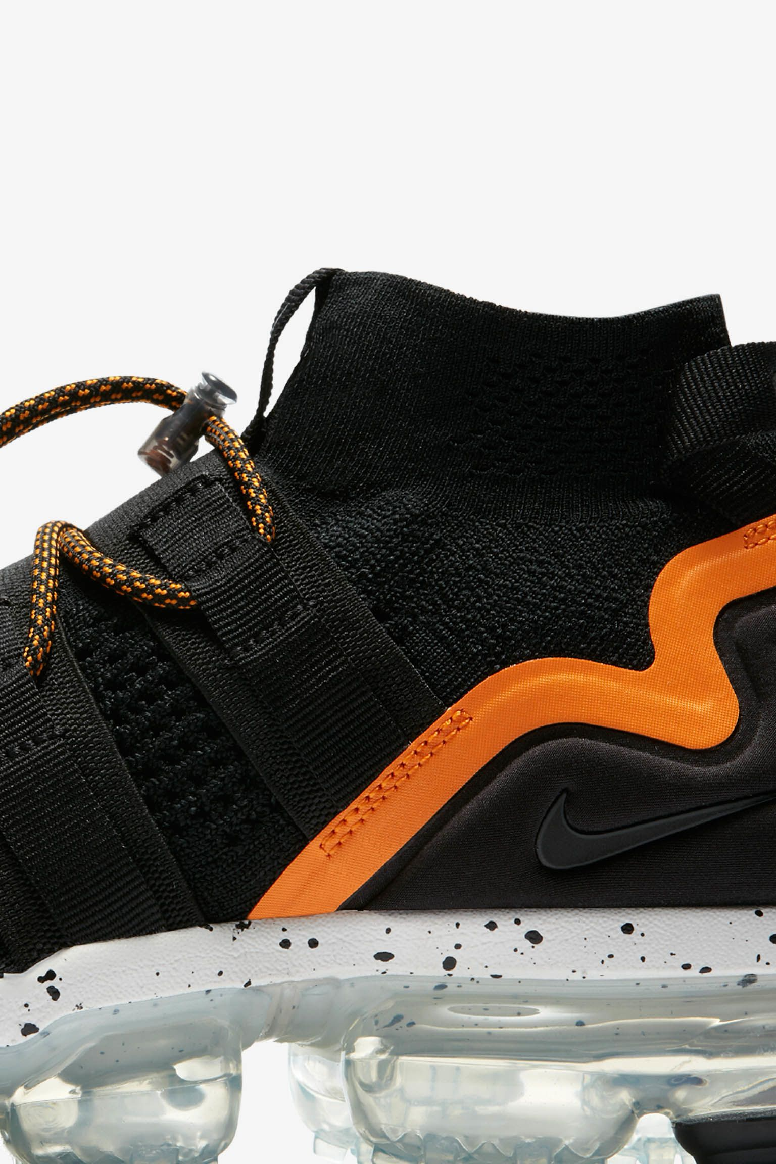 Nike Air Vapormax Utility 'Black & Orange Peel' Release Date