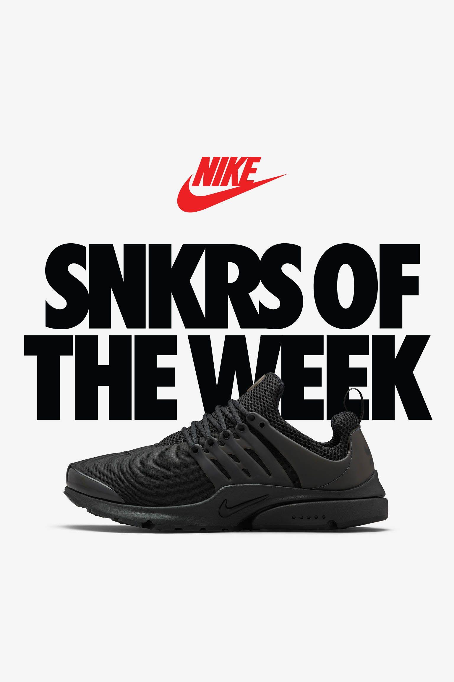 Nike Air Presto 'Triple Black'
