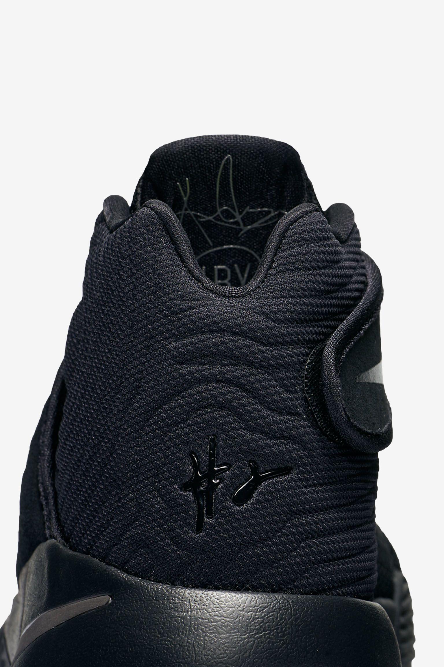 Nike Kyrie 2 'Triple Black' Release Date
