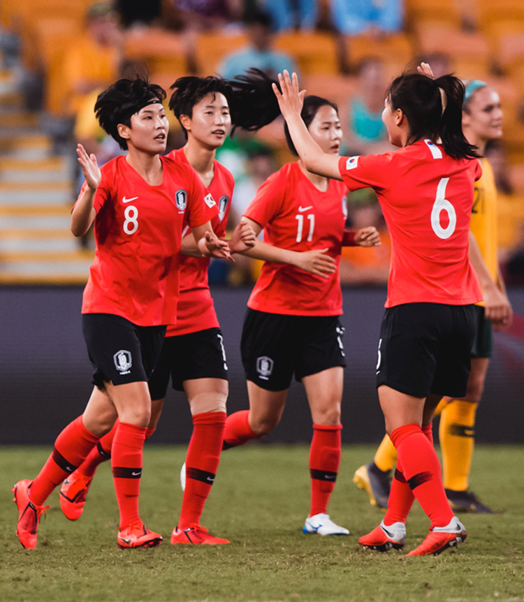 South Korea Women's Nation Team 2019