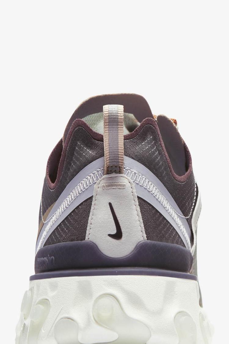 Nike React Element 87 Undercover 'Green Mist & Deep Burgundy' Release Date