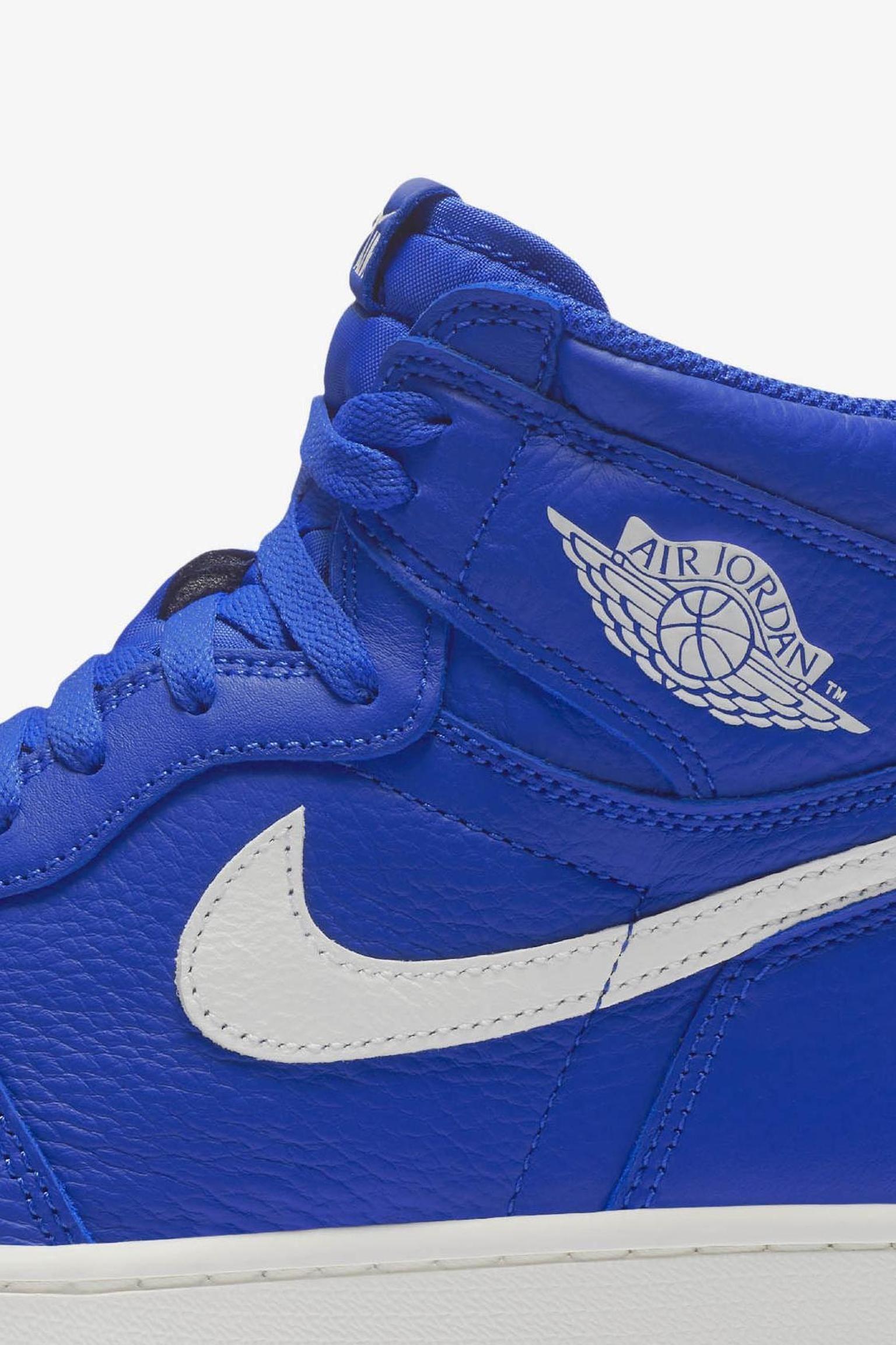 Air Jordan 1 Retro High OG  Hyper Royal   White  Release Date. Nike ... f3380a856