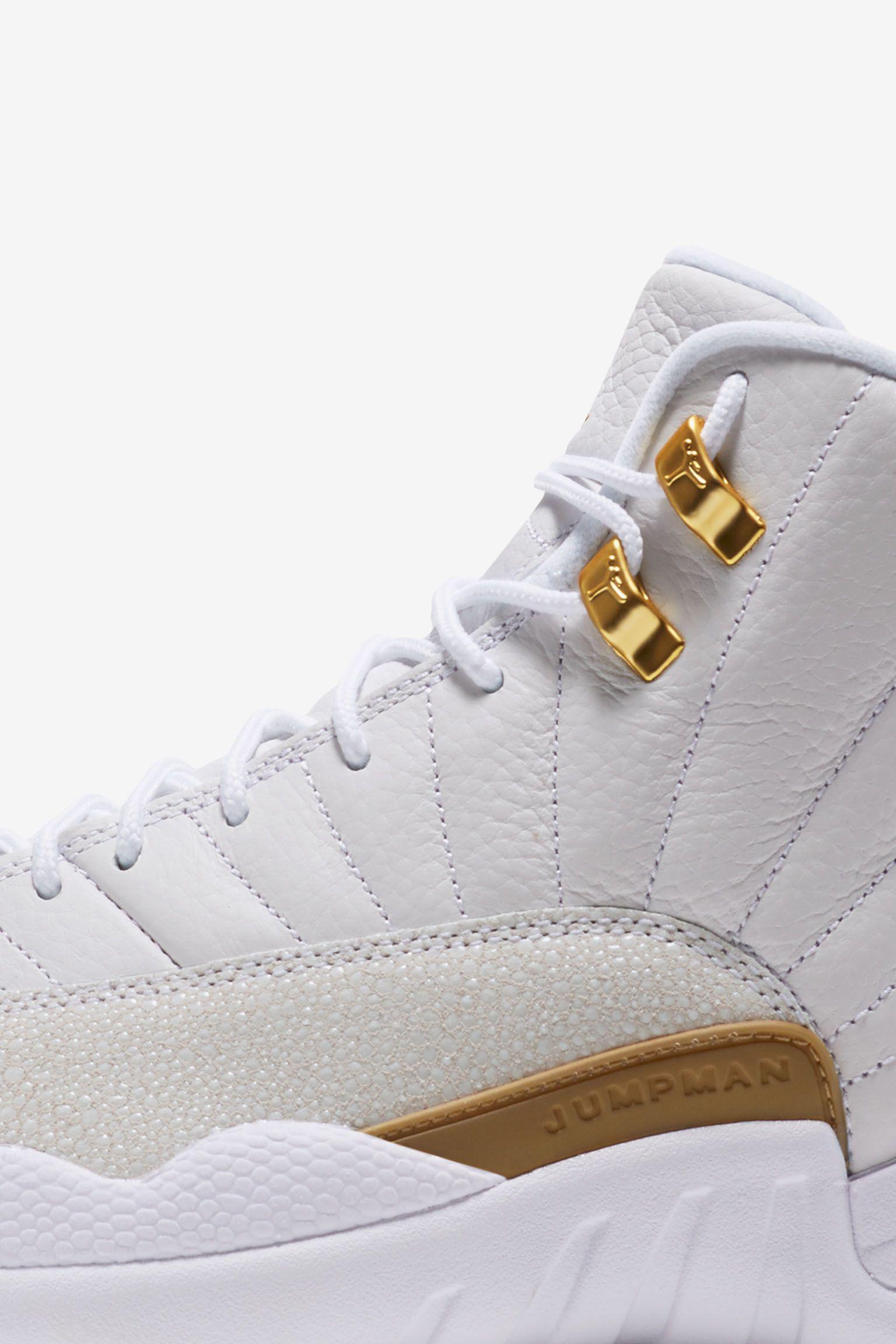 Air Jordan 12 OVO  White   Metallic Gold  Release Date. Nike+ SNKRS 310ec7262