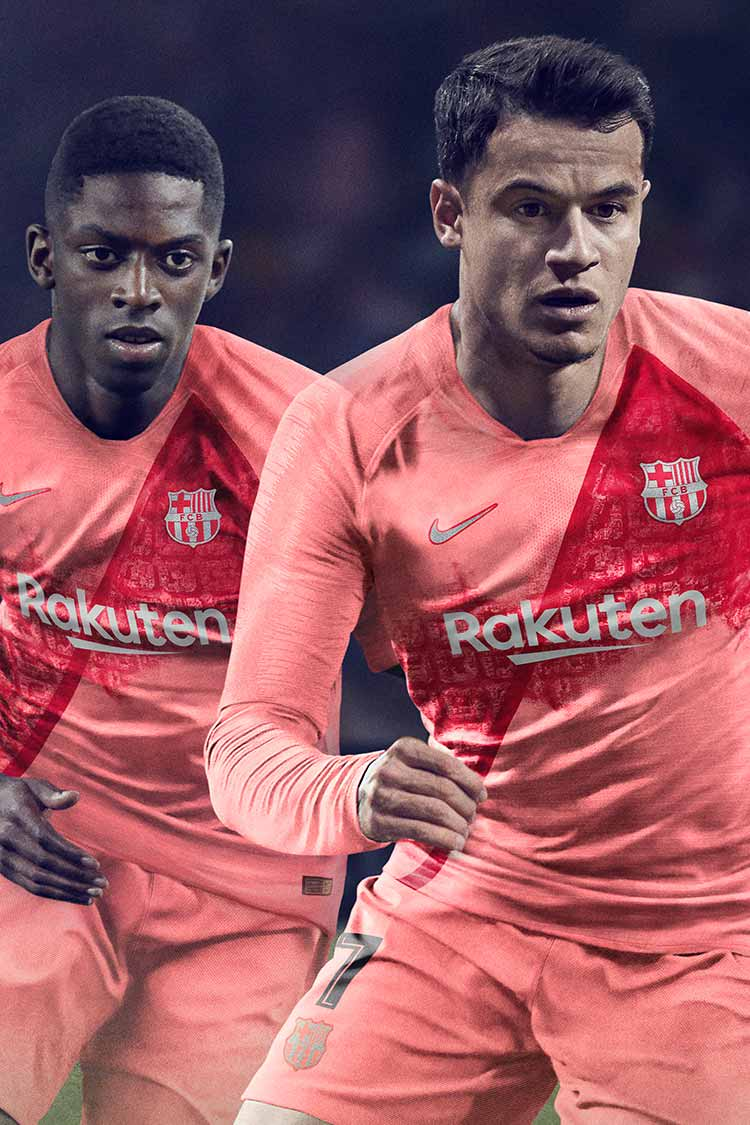2018/2019 FC Barcelona Stadium 3rd Kit