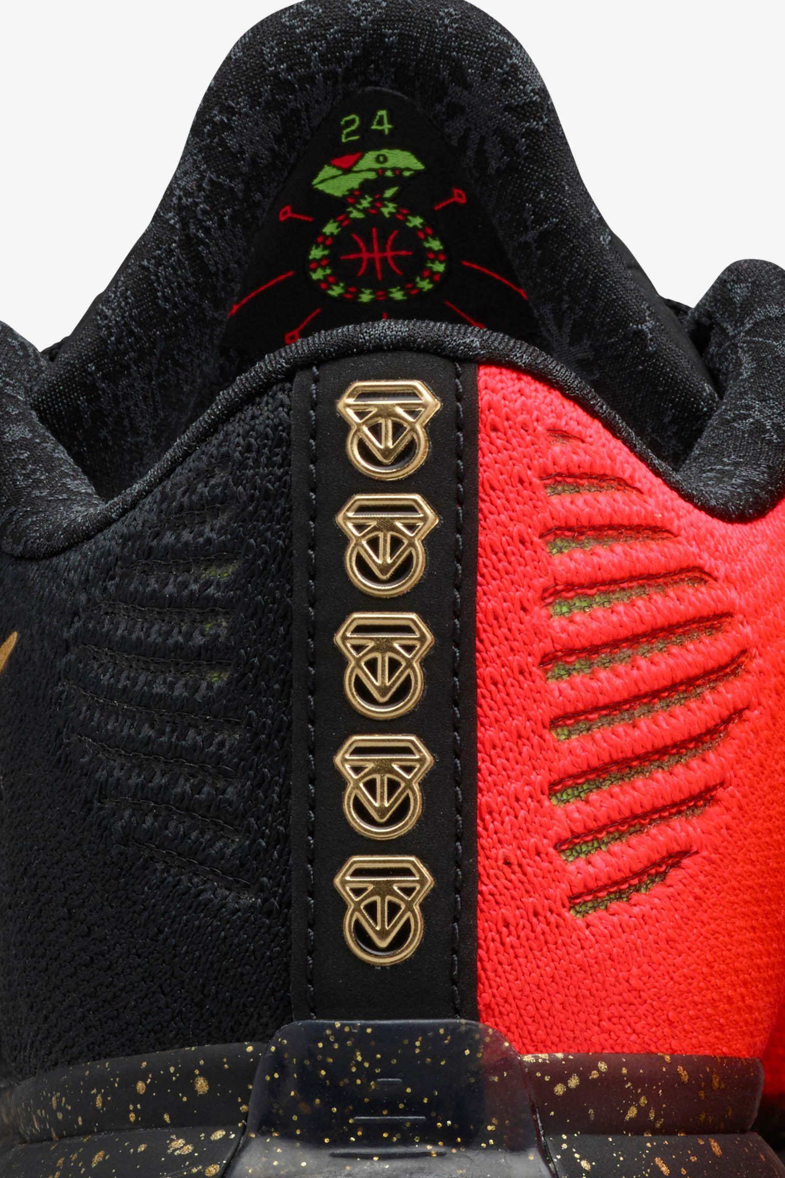 Nike Kobe 10 Elite Low 'Fire & Ice' Release Date